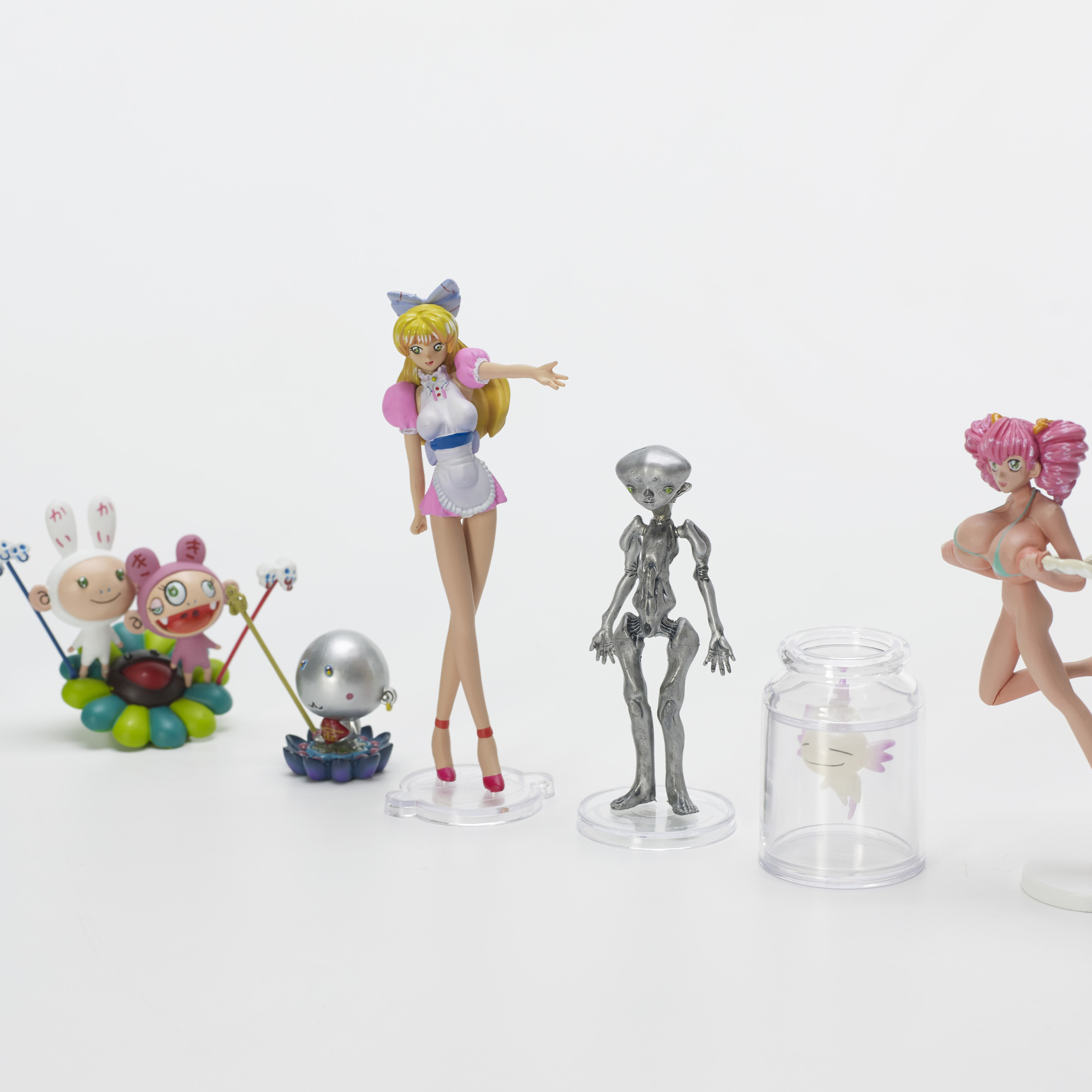 622: Takashi Murakami / set of ten figures from Superflat Museum: Convenience Store Edition (2 of 2)