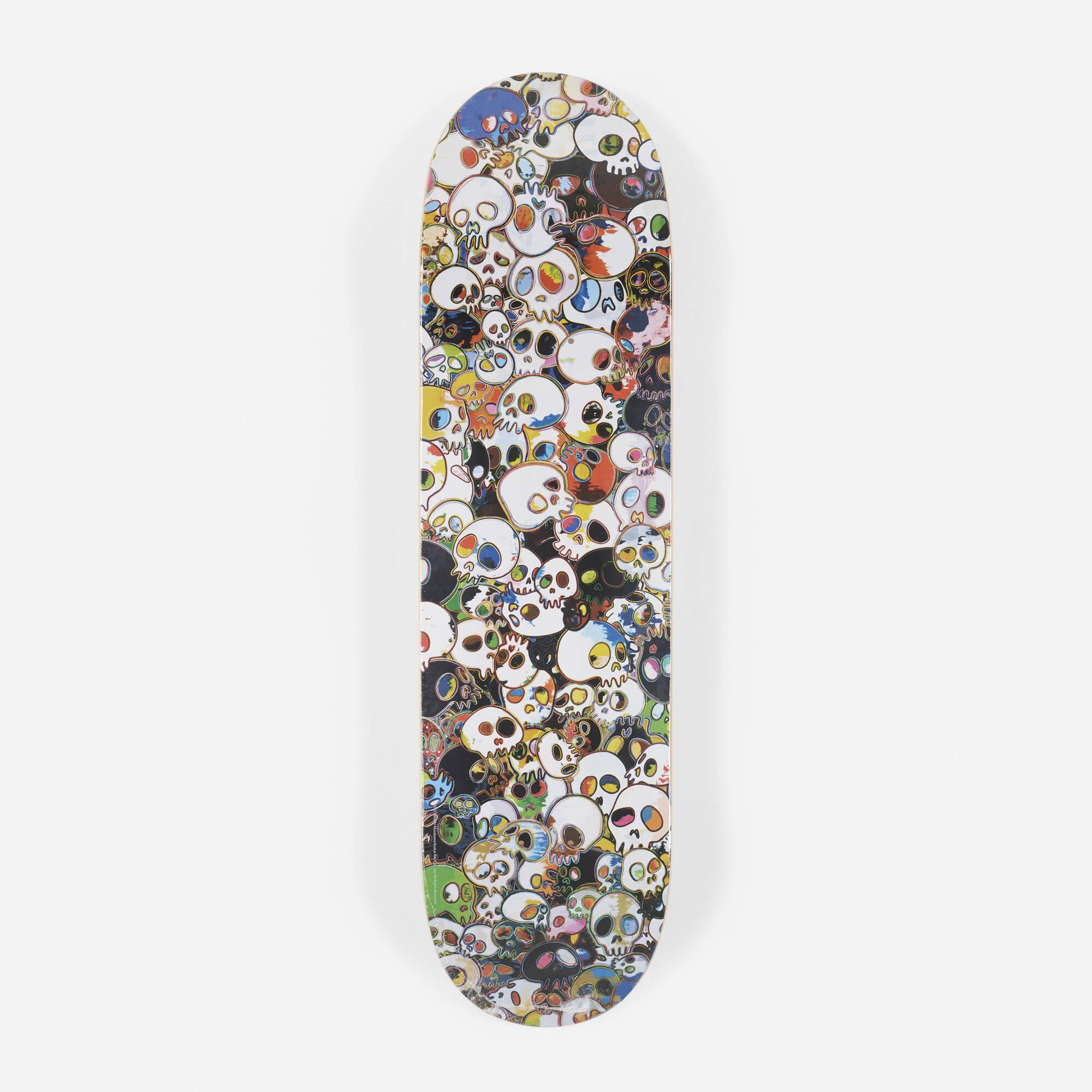 623: Takashi Murakami / Vault by Vans x Takashi Murakami skateboard deck (1 of 1)