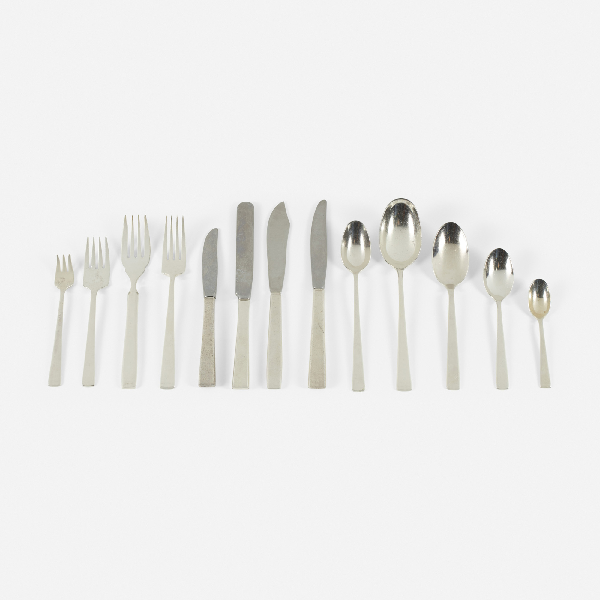 623: Garth and Ada Louise Huxtable / Four Seasons flatware, service for twelve (1 of 1)