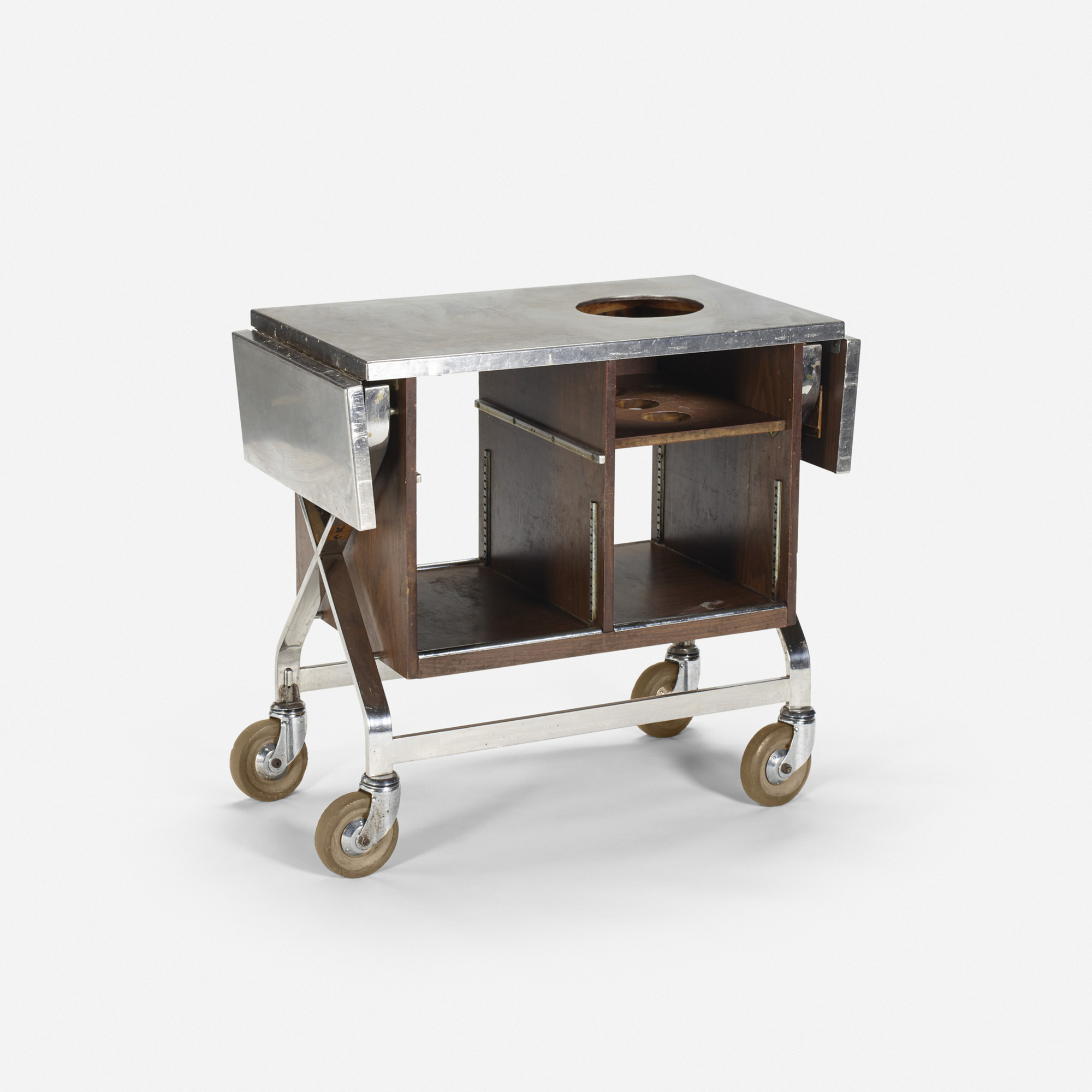 625: Garth and Ada Louise Huxtable / Serving cart from The Four Seasons (1 of 1)