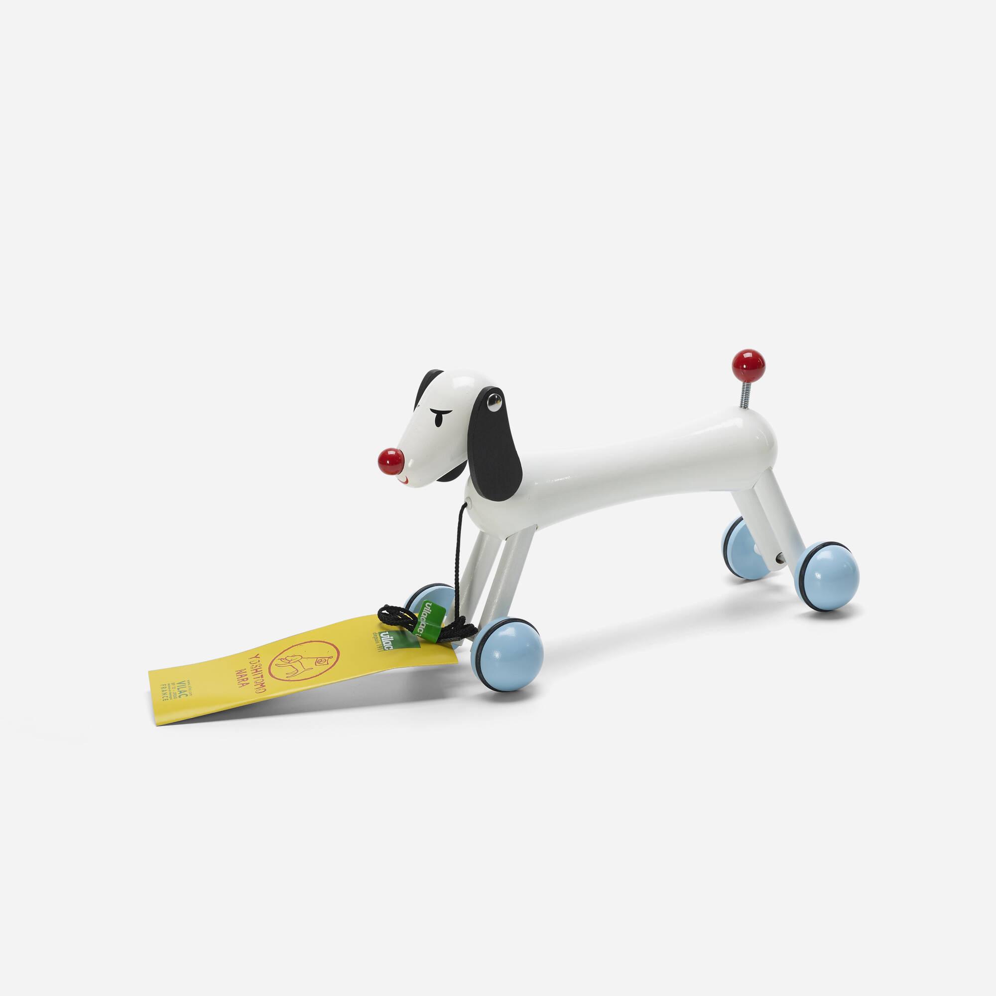 631: Yoshitomo Nara / Dog Pull Toy (1 of 2)