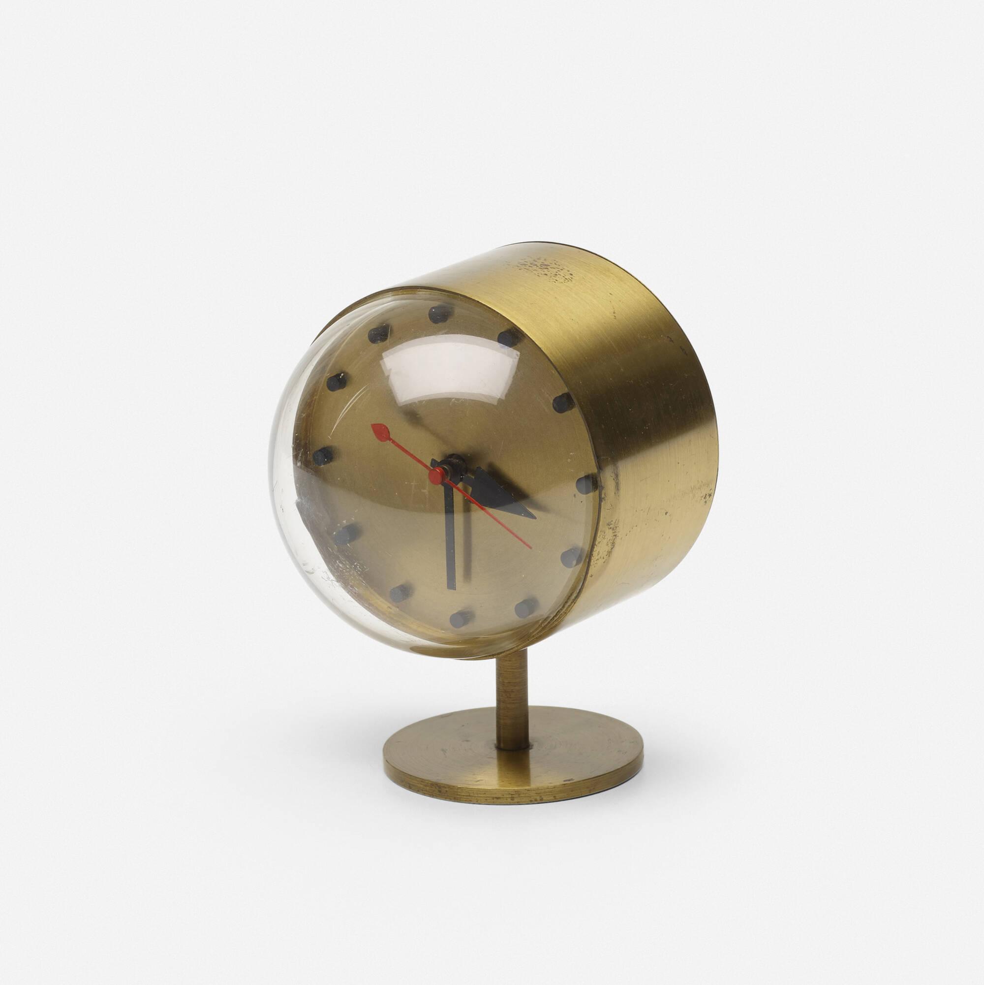 635: George Nelson U0026 Associates / Table Clock, Model 4766 (1 Of 2