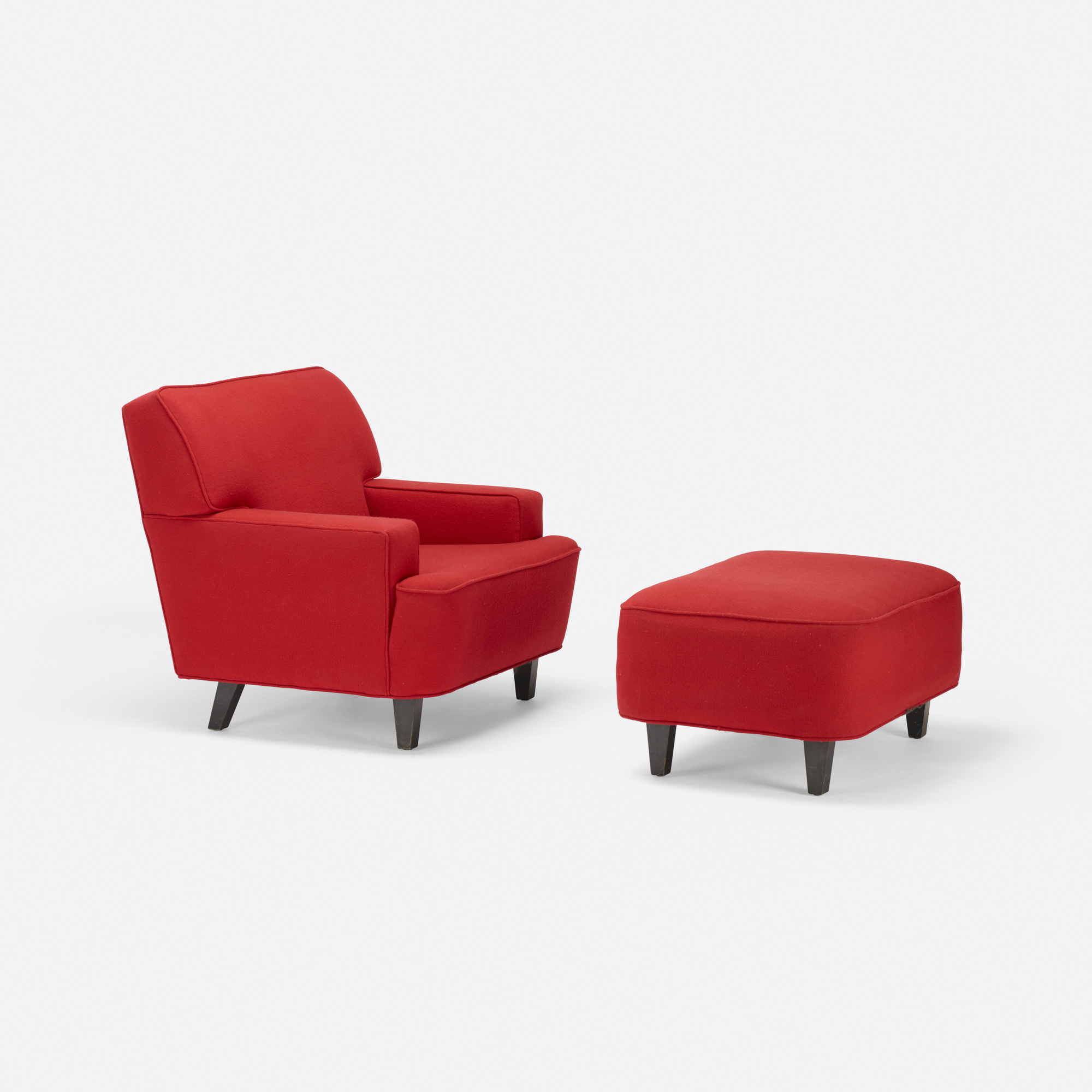636: George Nelson & Associates / lounge chair and ottoman (1 of 1)