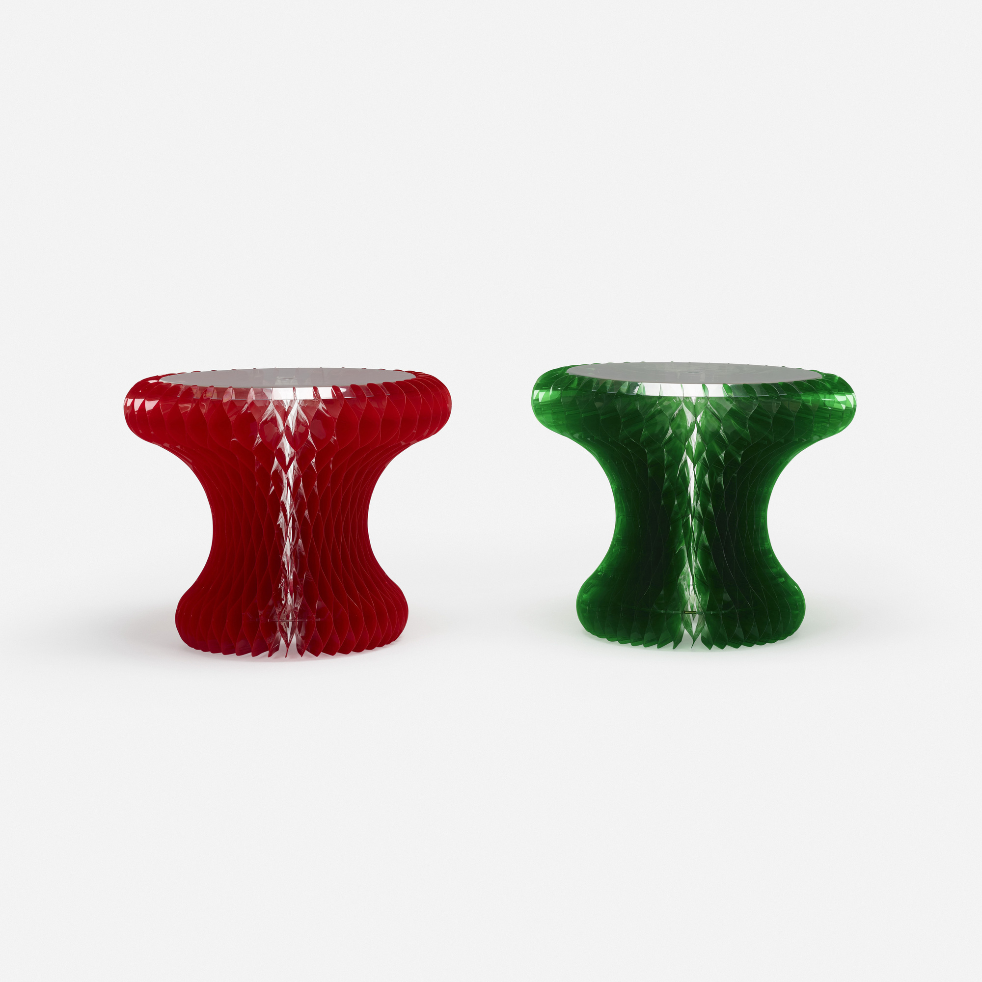 640: Marc Newson / Gello tables, pair (2 of 2)
