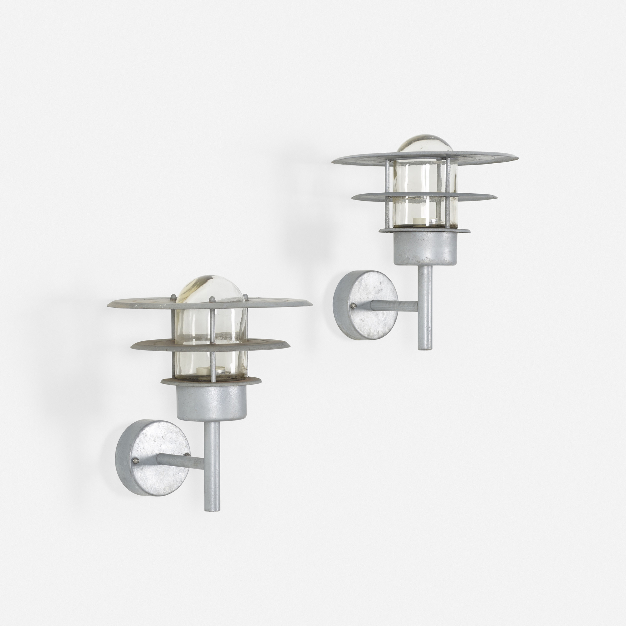 641: Nordlux / outdoor sconces, pair (1 of 1)