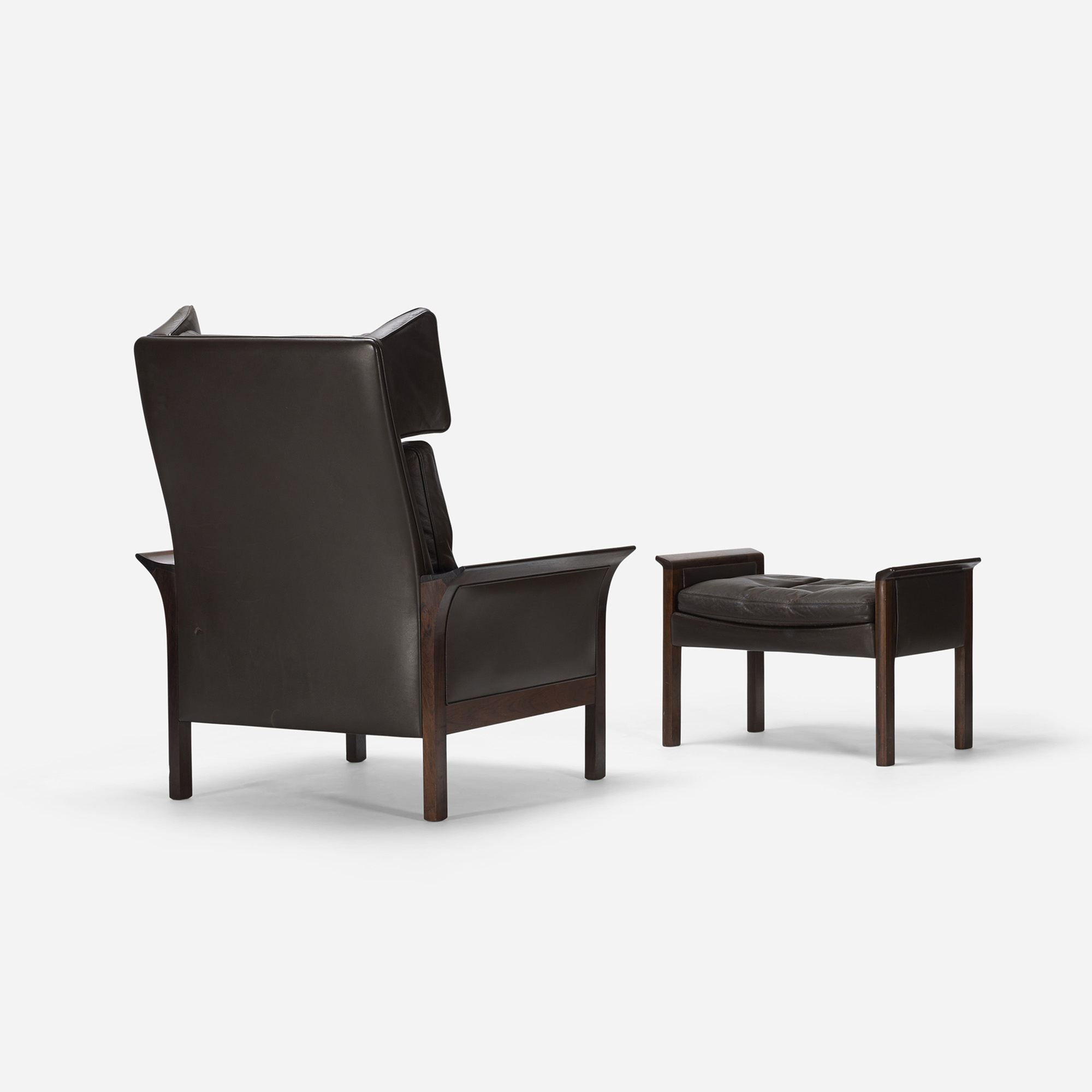 644: Hans Olsen / lounge chair and ottoman, model 500 H (3 of 5)