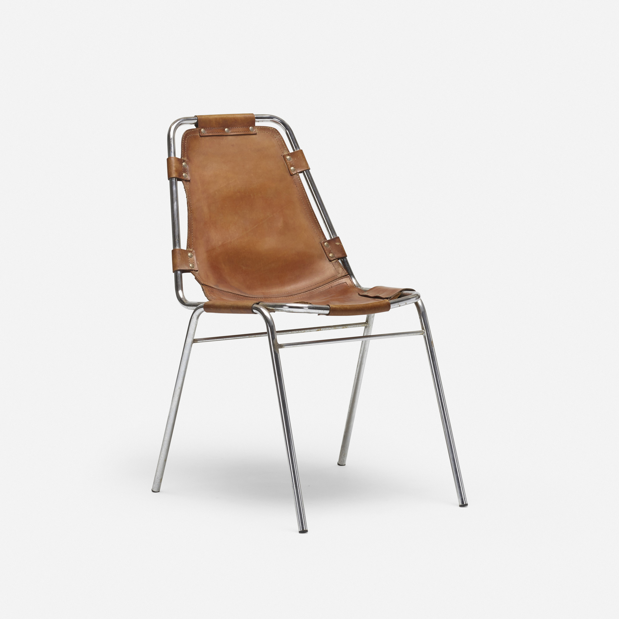 654: Charlotte Perriand / dining chair from Les Arcs (1 of 2)