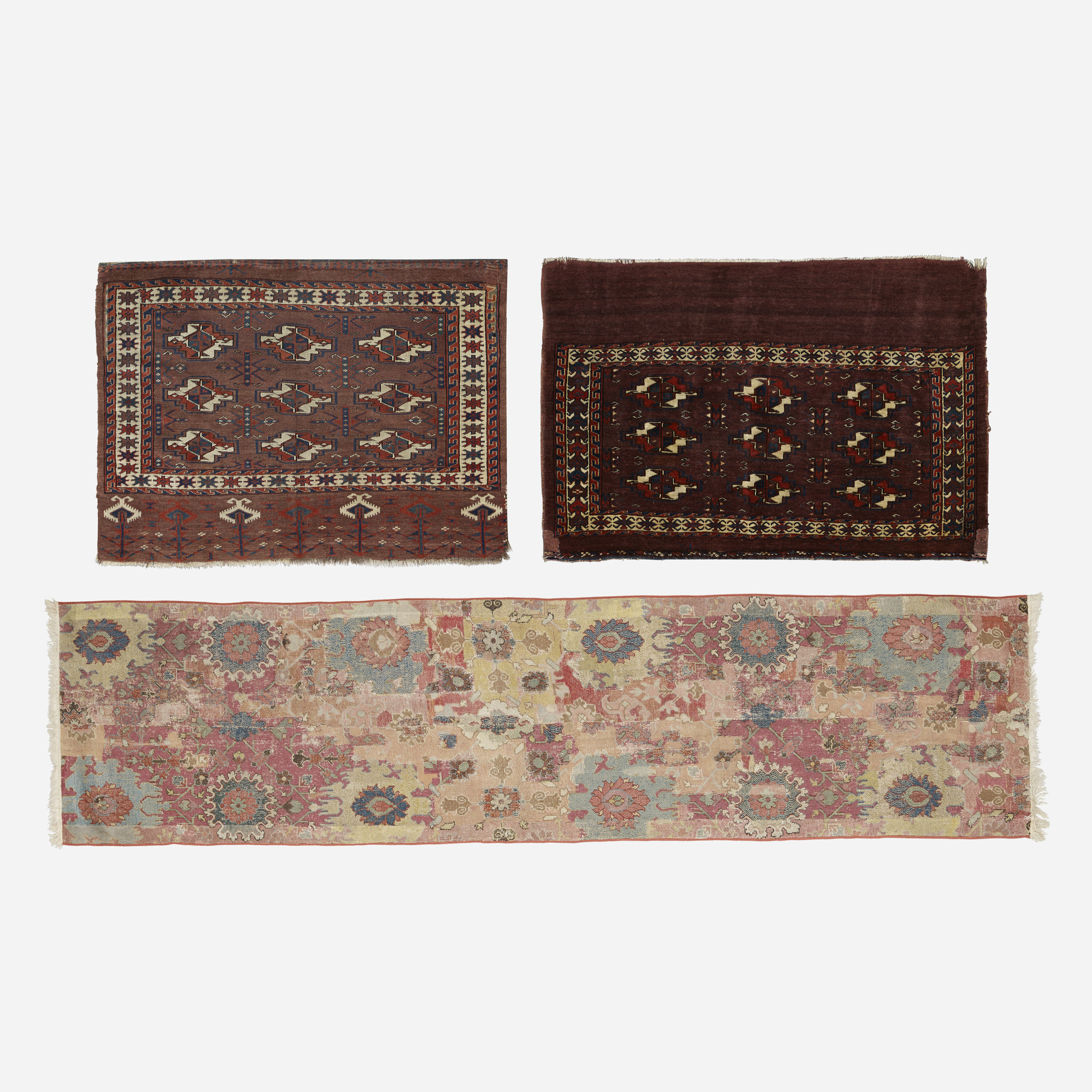 656: Persian / collection of three carpets (1 of 1)