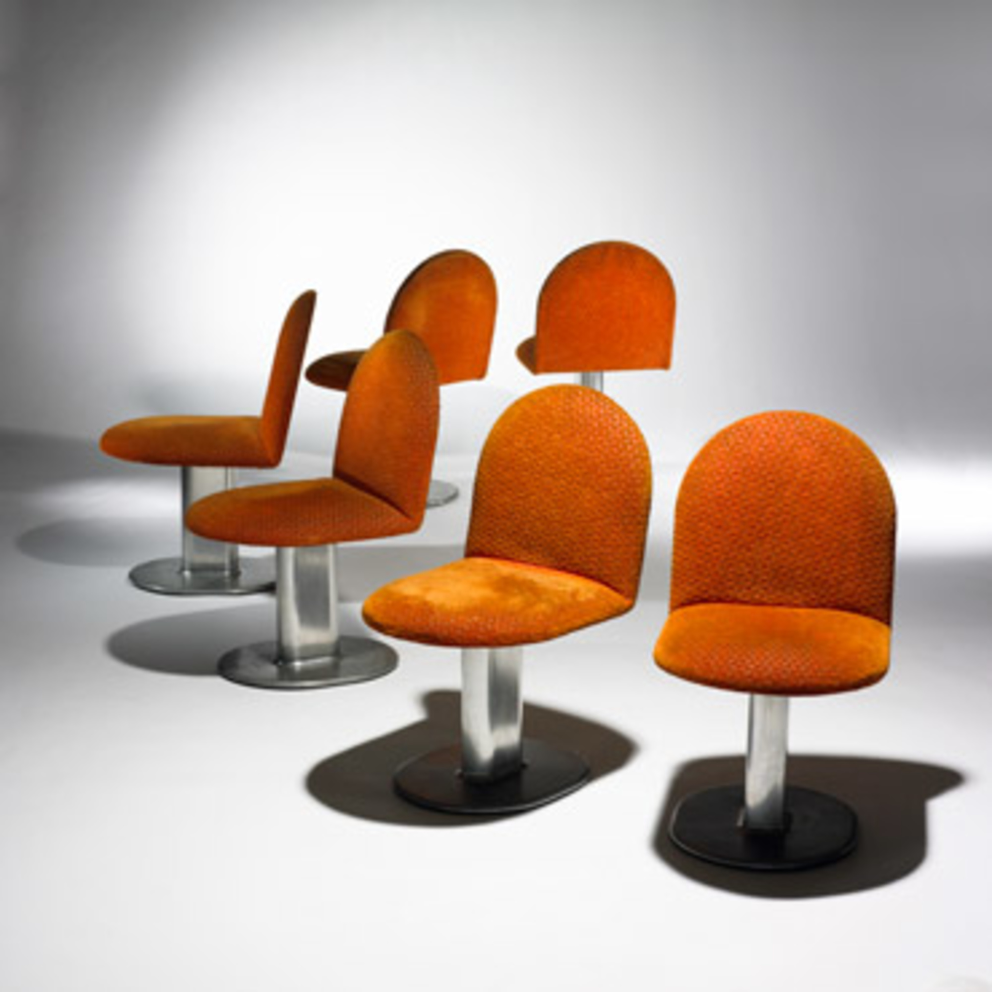 Superb 664 Ettore Sottsass Harlow Dining Chairs Set Of Six Unemploymentrelief Wooden Chair Designs For Living Room Unemploymentrelieforg
