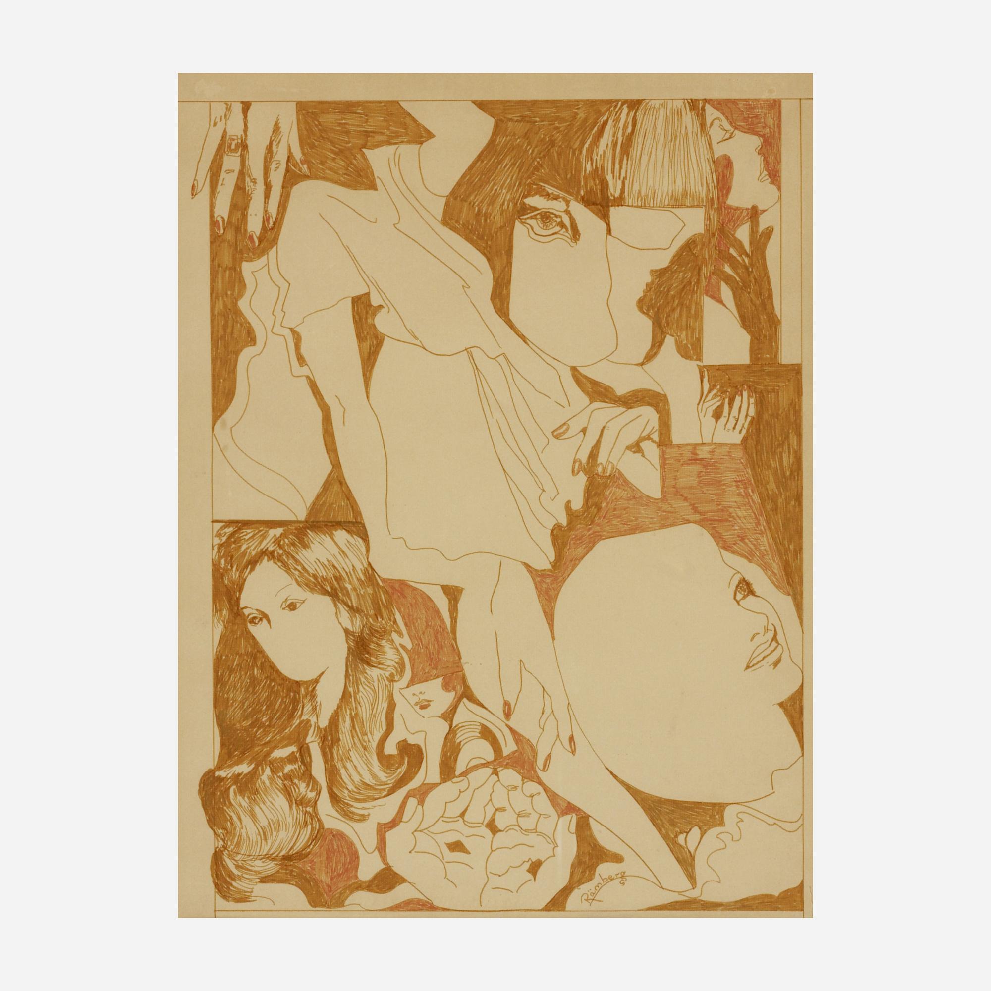 676: Christina Ramberg / Untitled (1 of 1)