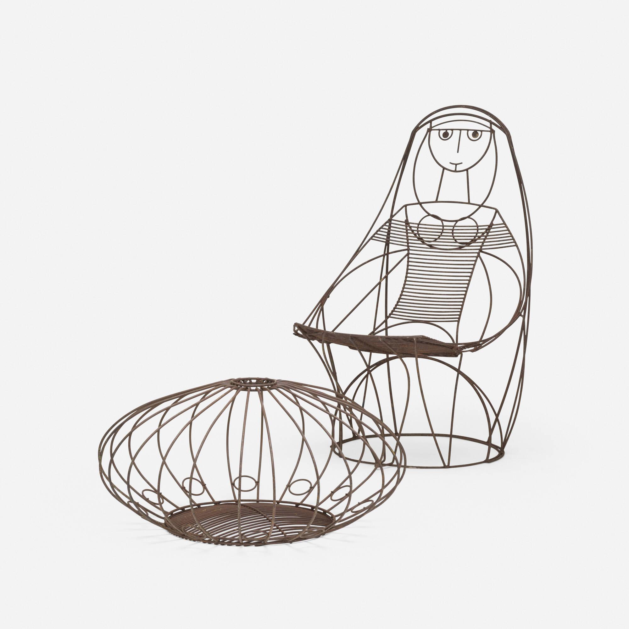 680: John Risley / lounge chair and ottoman (1 of 3)