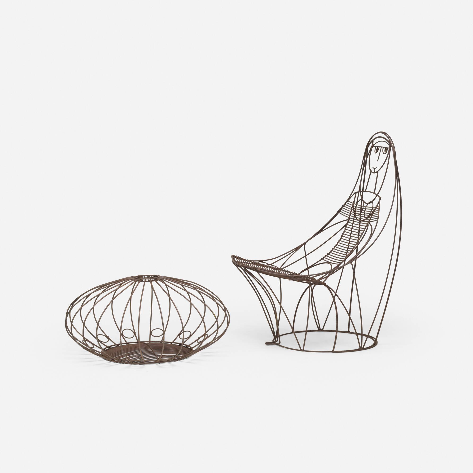 680: John Risley / lounge chair and ottoman (2 of 3)