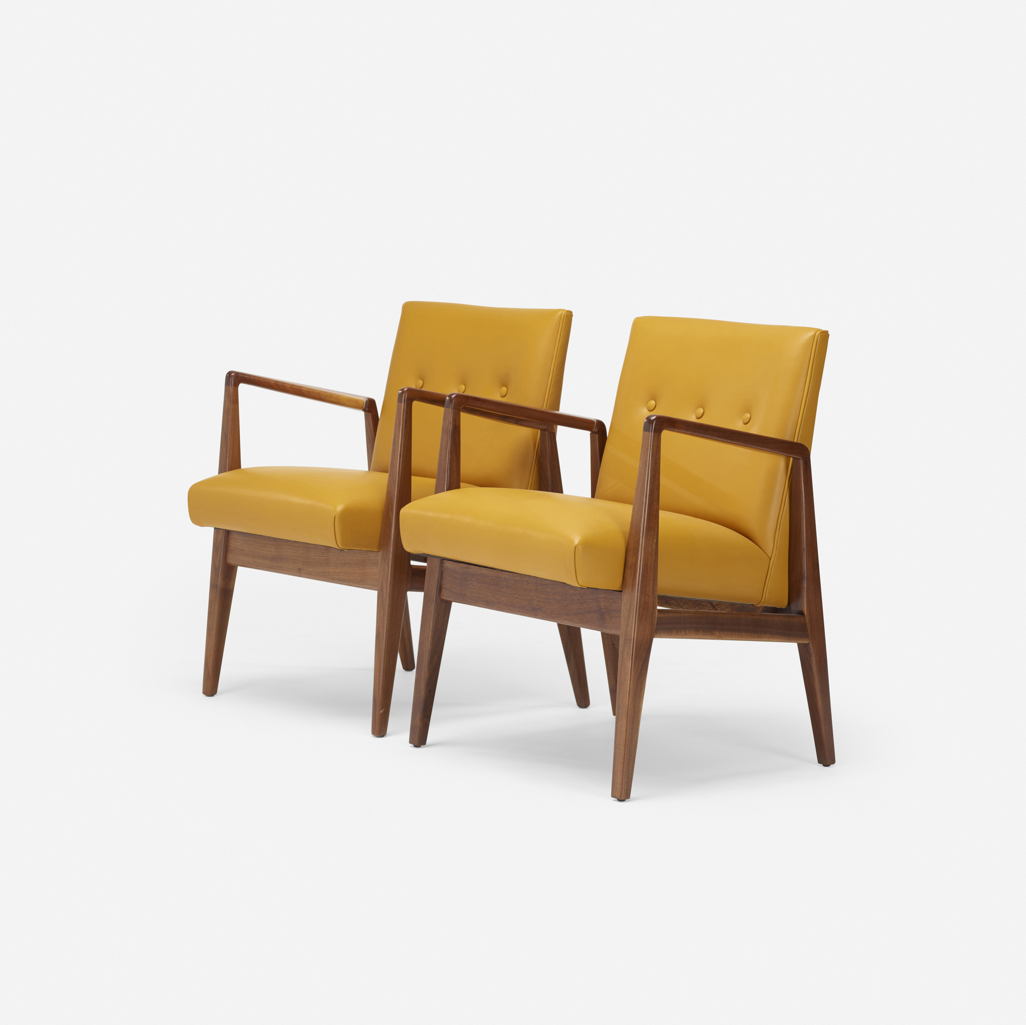 683: Jens Risom / lounge chairs, pair (2 of 2)