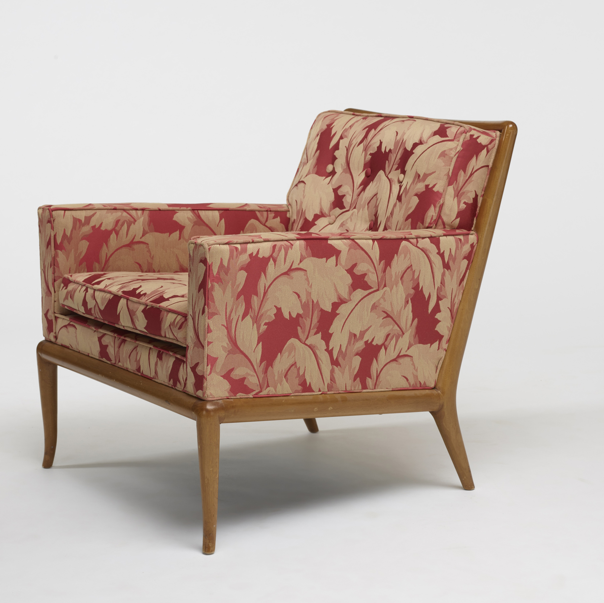 691: T.H. Robsjohn-Gibbings / lounge chairs model WMP, pair (3 of 3)