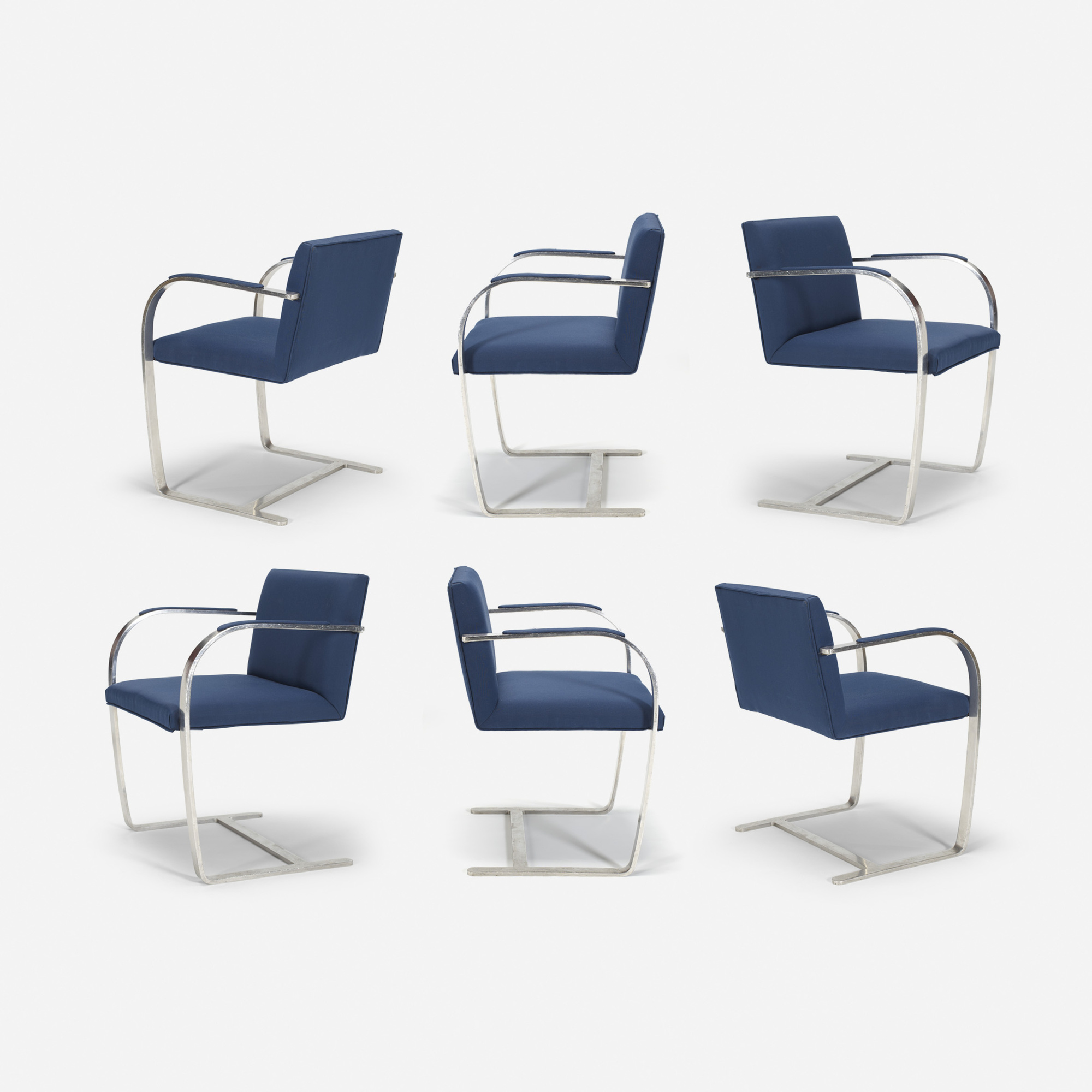 703: Ludwig Mies van der Rohe / Brno chairs from The Four Seasons, set of six (1 of 1)