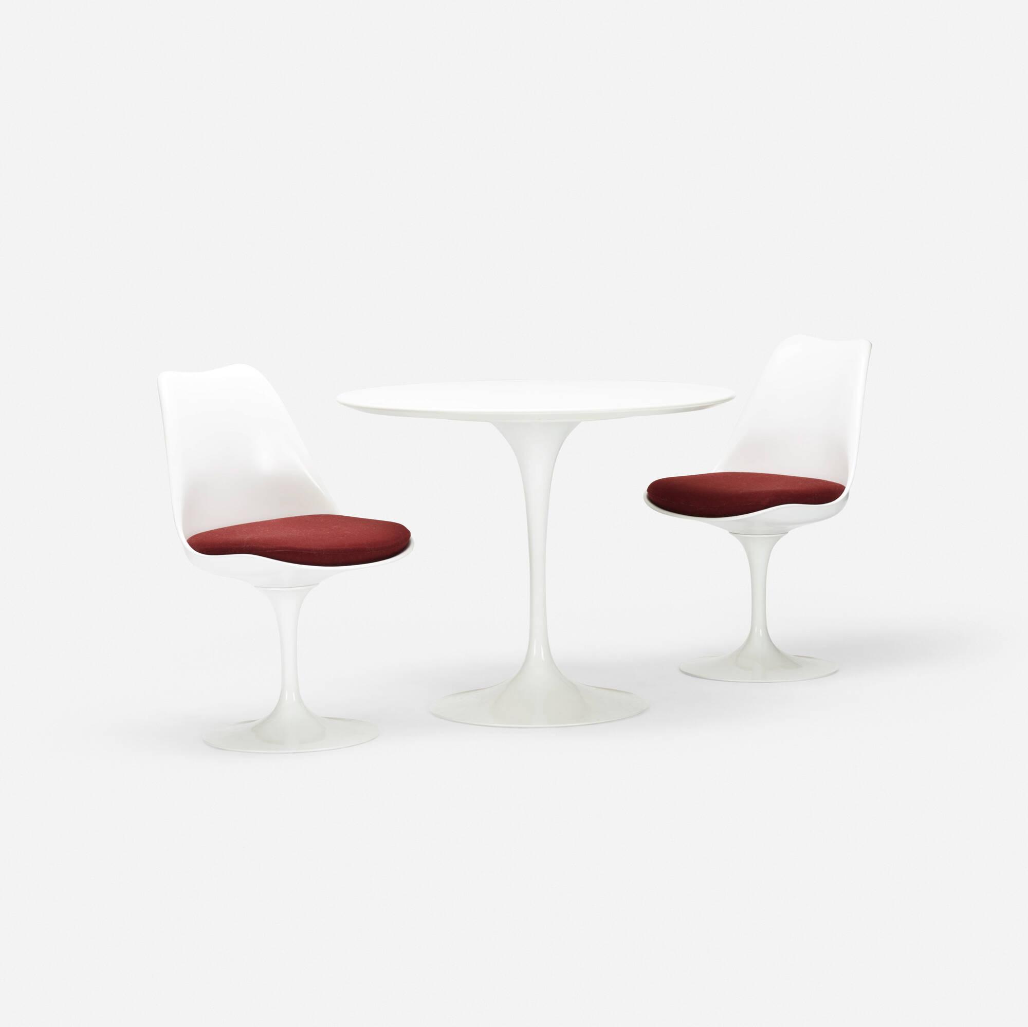 704: Eero Saarinen / dining set (1 of 2)