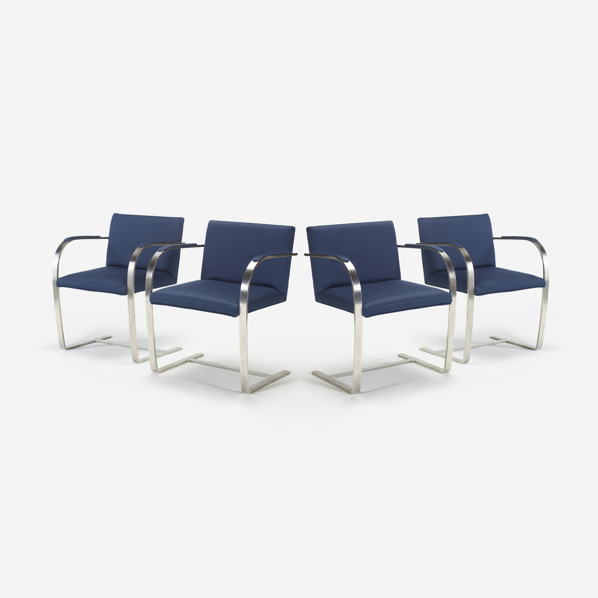 704: Ludwig Mies van der Rohe / Brno chairs from The Four Seasons, set of four (1 of 1)