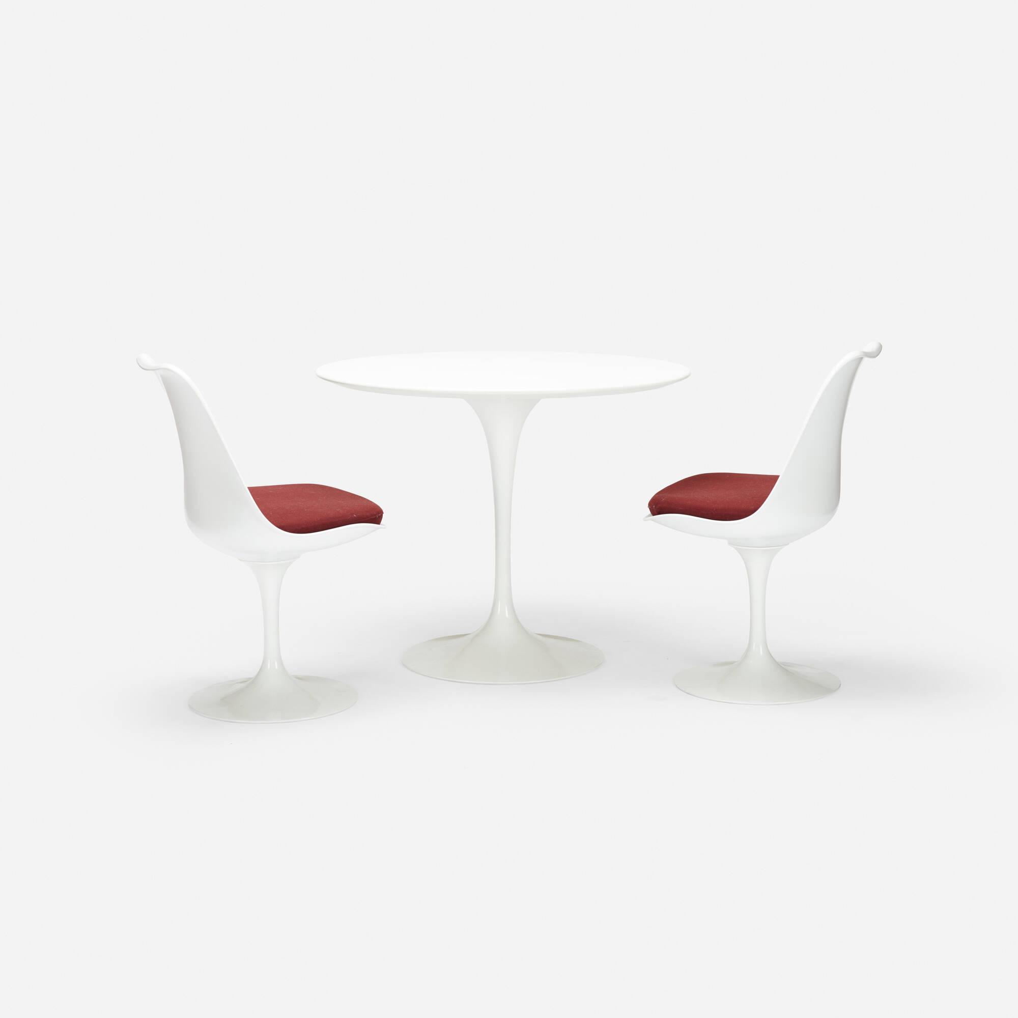 704: Eero Saarinen / dining set (2 of 2)