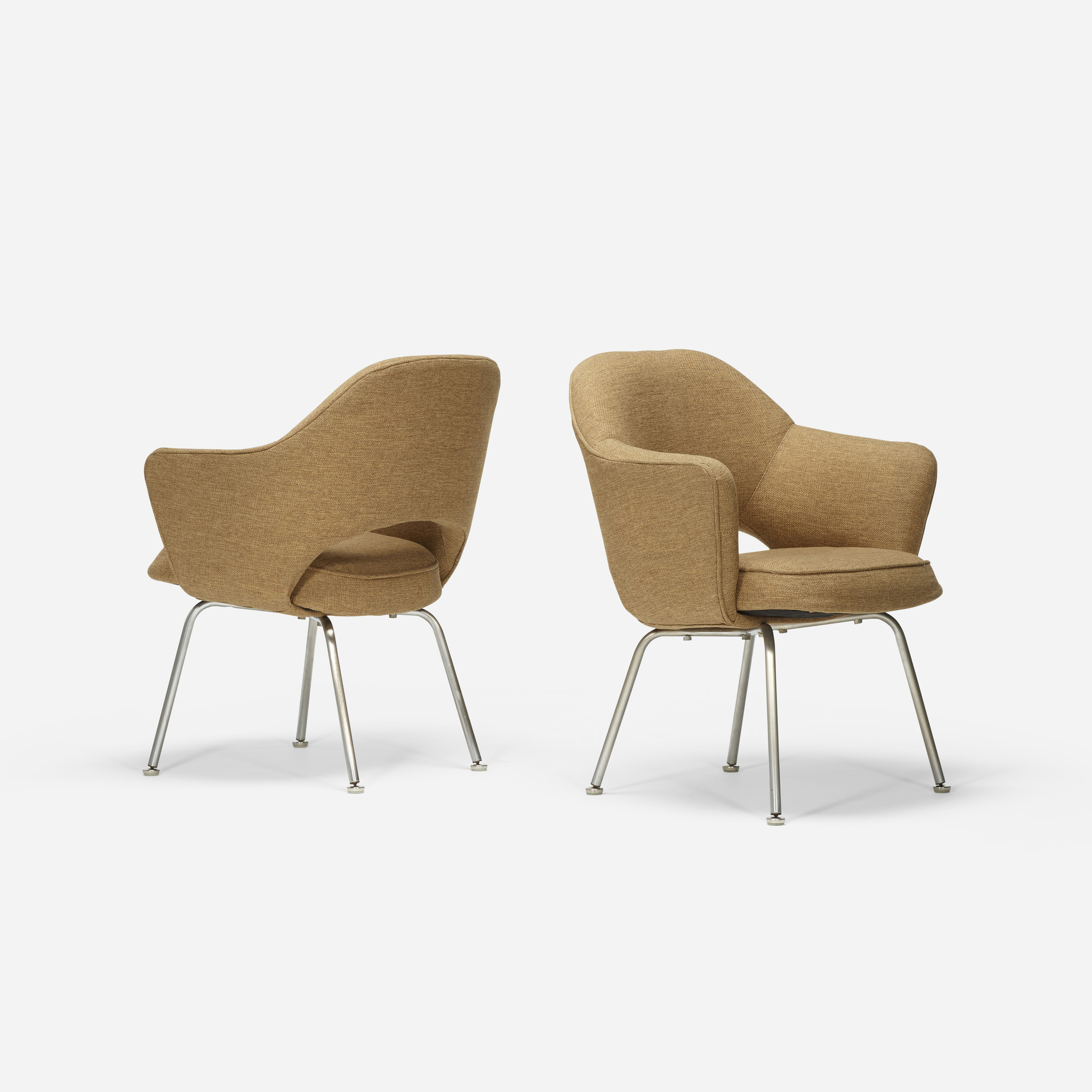 705: Eero Saarinen / dining chairs, pair (1 of 2)