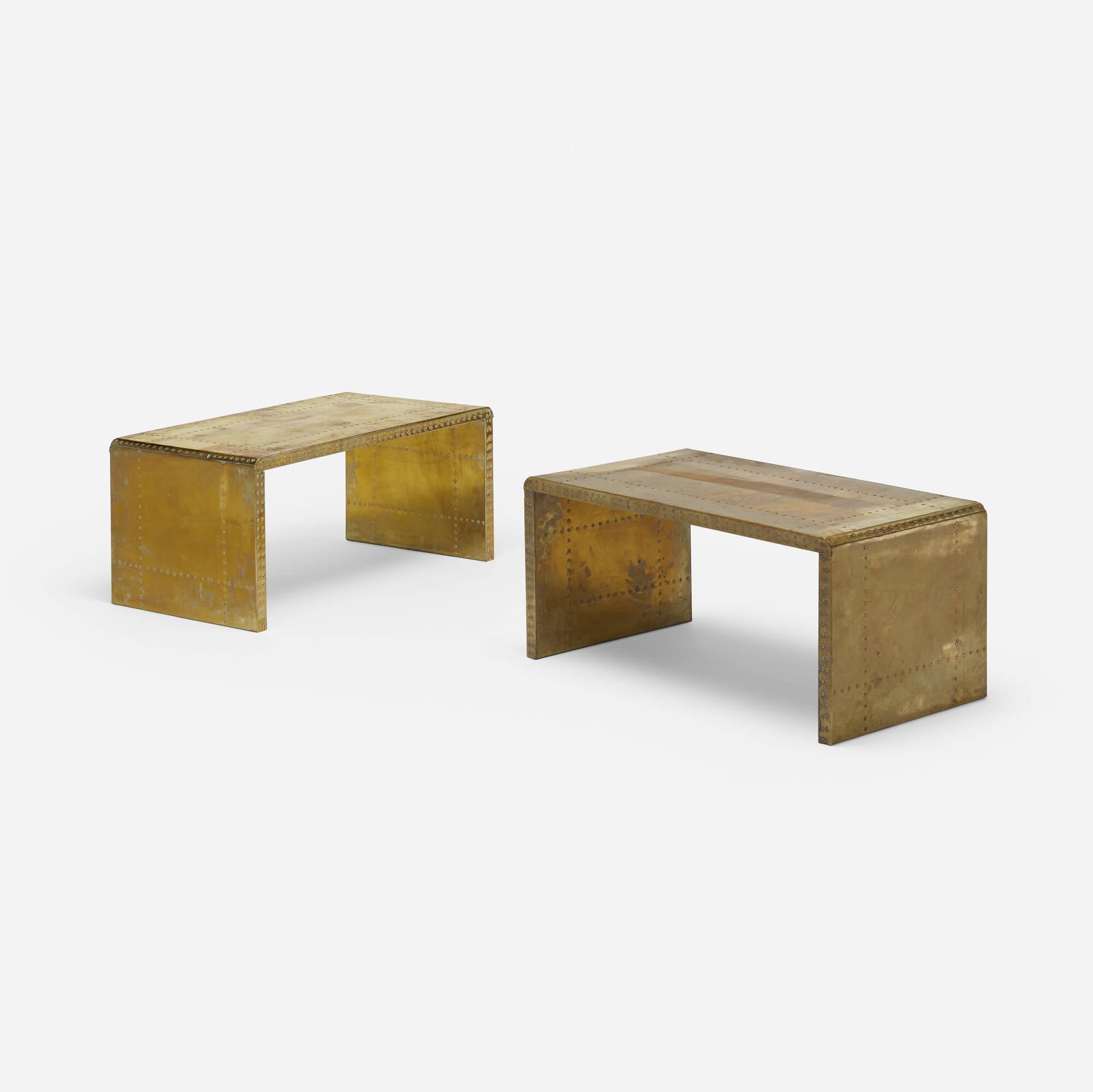 710: Sarreid Ltd. / tables, pair (1 of 3)