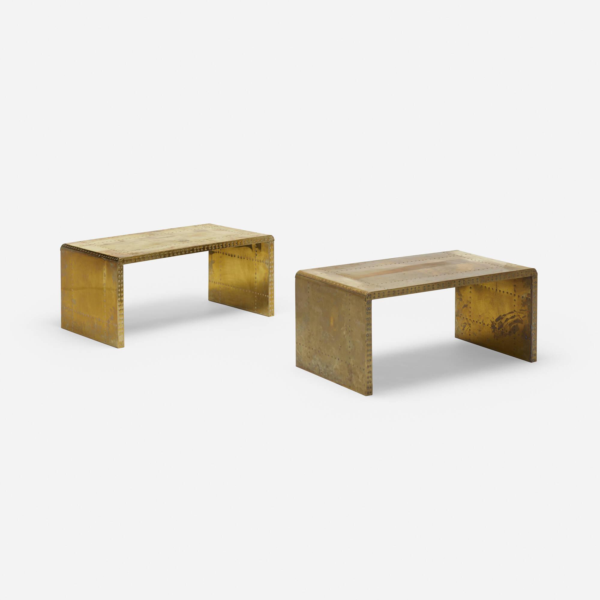 710: Sarreid Ltd. / tables, pair (2 of 3)