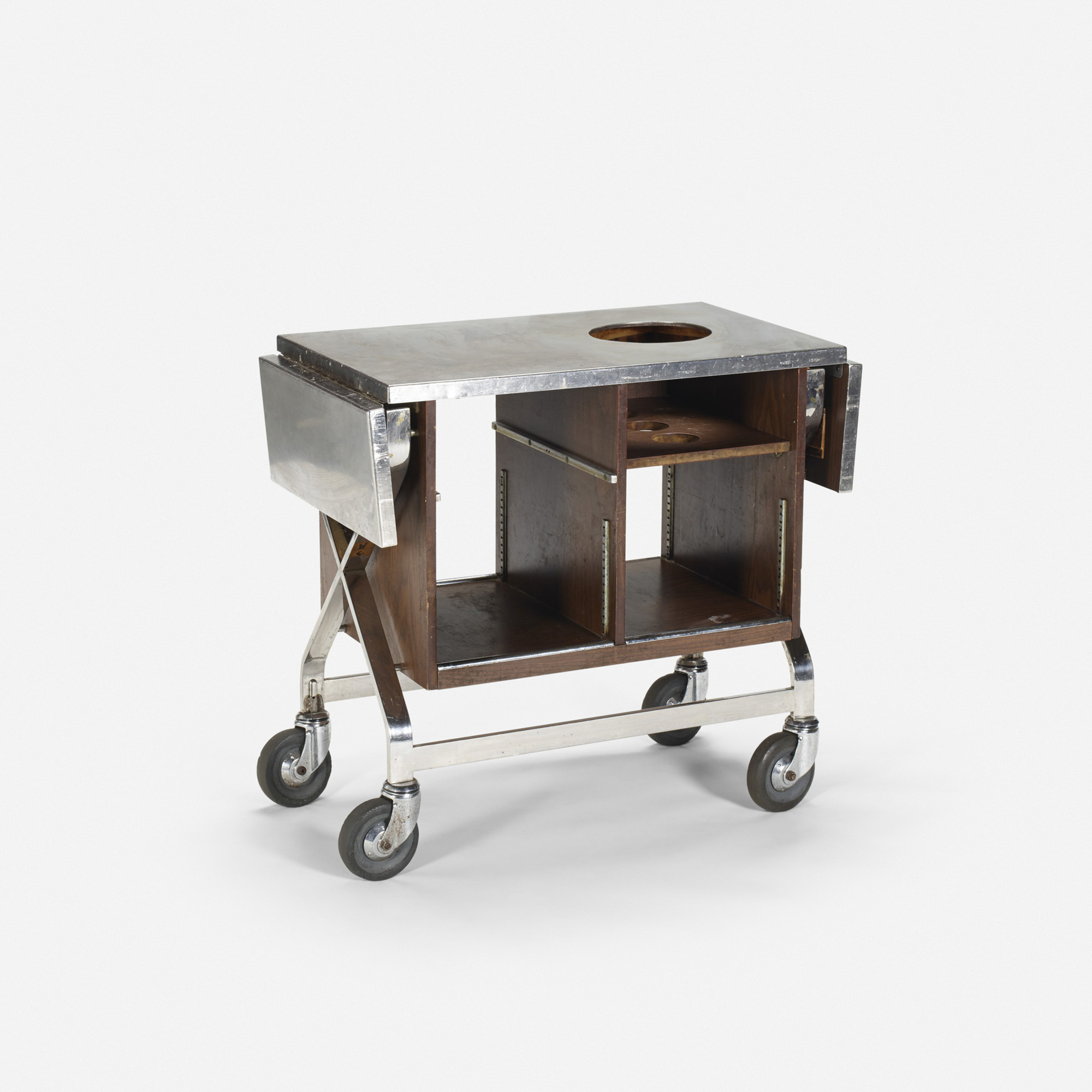 711: Garth and Ada Louise Huxtable / Serving cart from The Four Seasons (1 of 1)