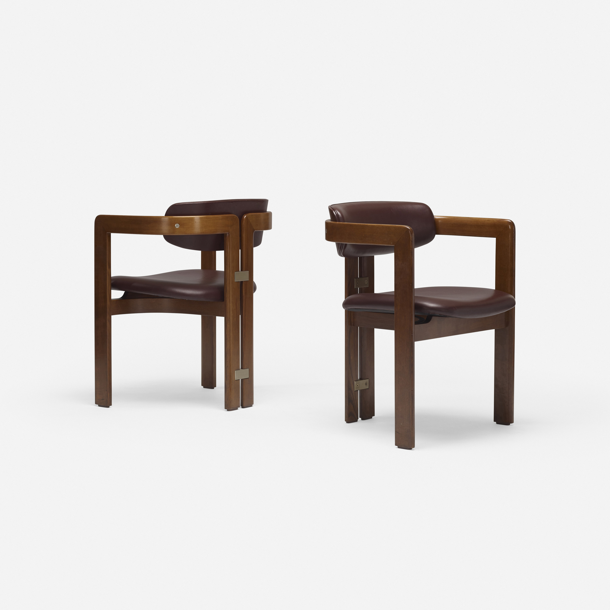 711: Augusto Savini / Pamplona dining chairs, pair (2 of 4)