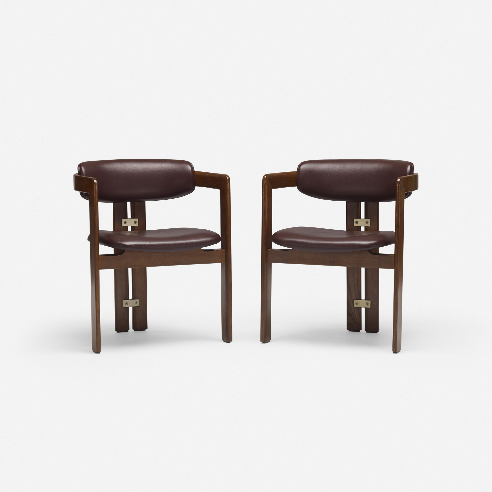 711: Augusto Savini / Pamplona dining chairs, pair (3 of 4)