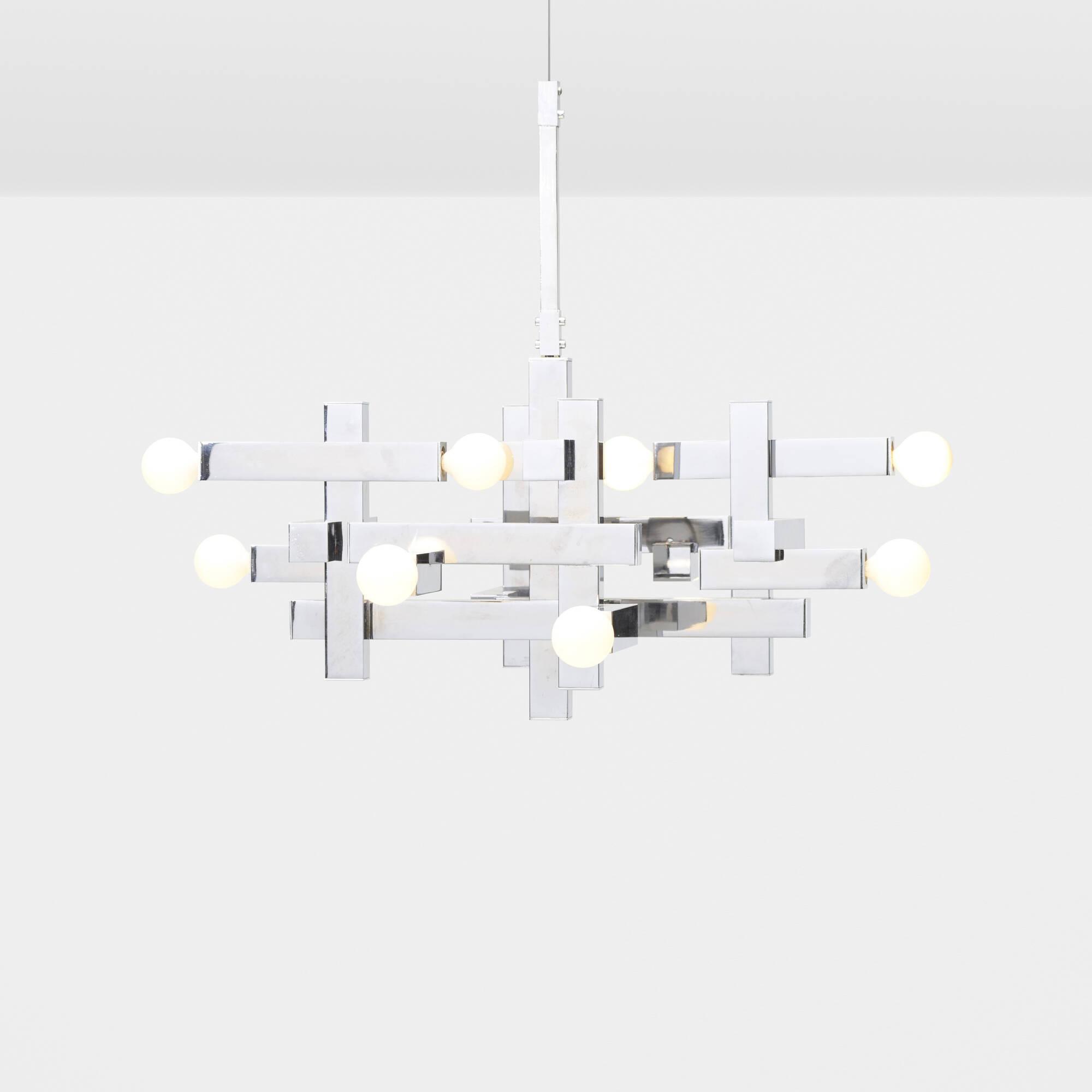 722: Gaetano Sciolari / chandelier (1 of 1)