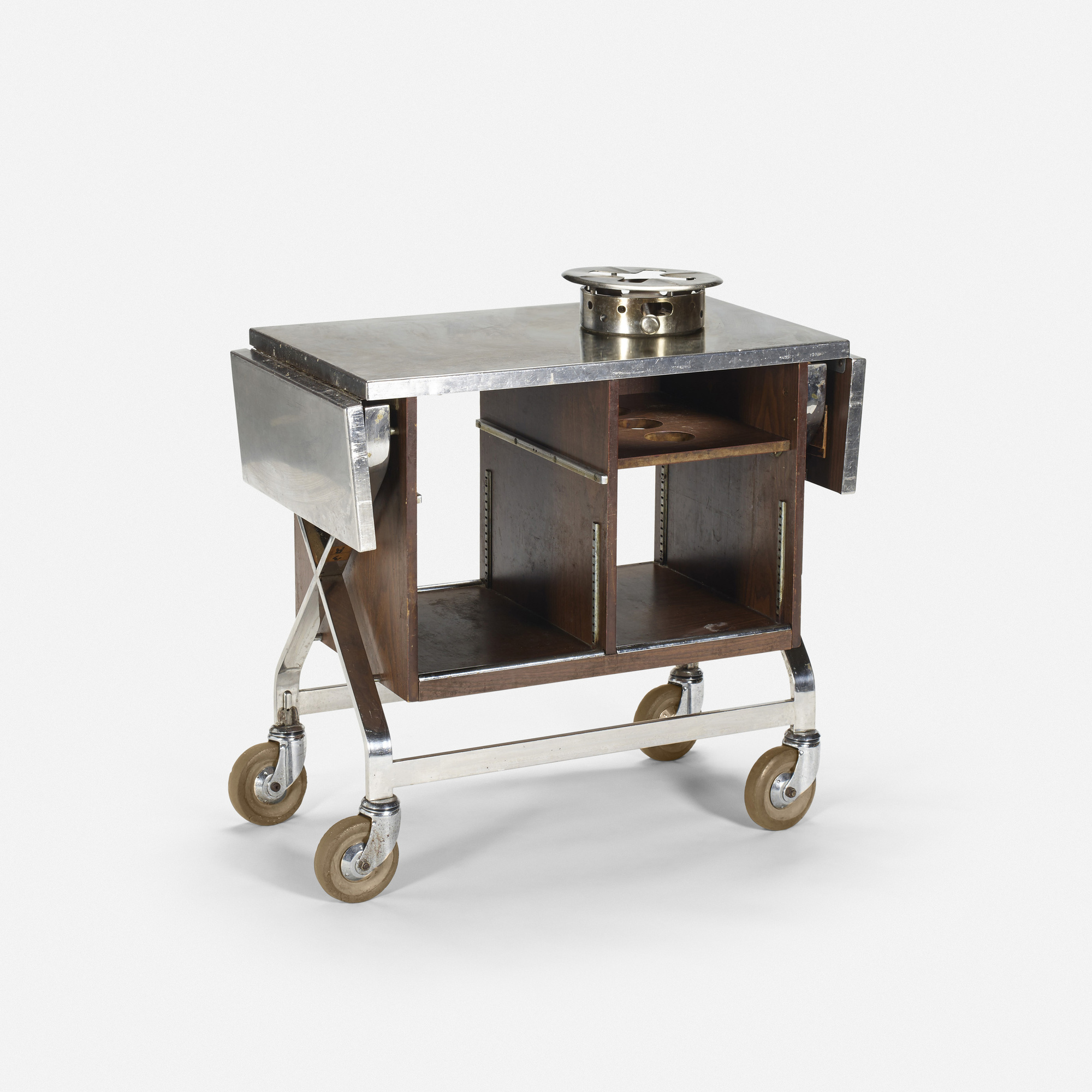723: Garth and Ada Louise Huxtable / Serving cart from The Four Seasons (1 of 1)