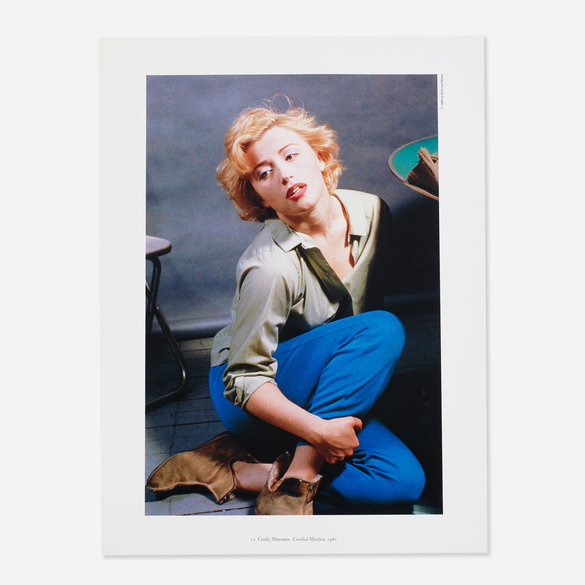 726: Cindy Sherman / Untitled (Marilyn) from the Jubilee portfolio (1 of 1)