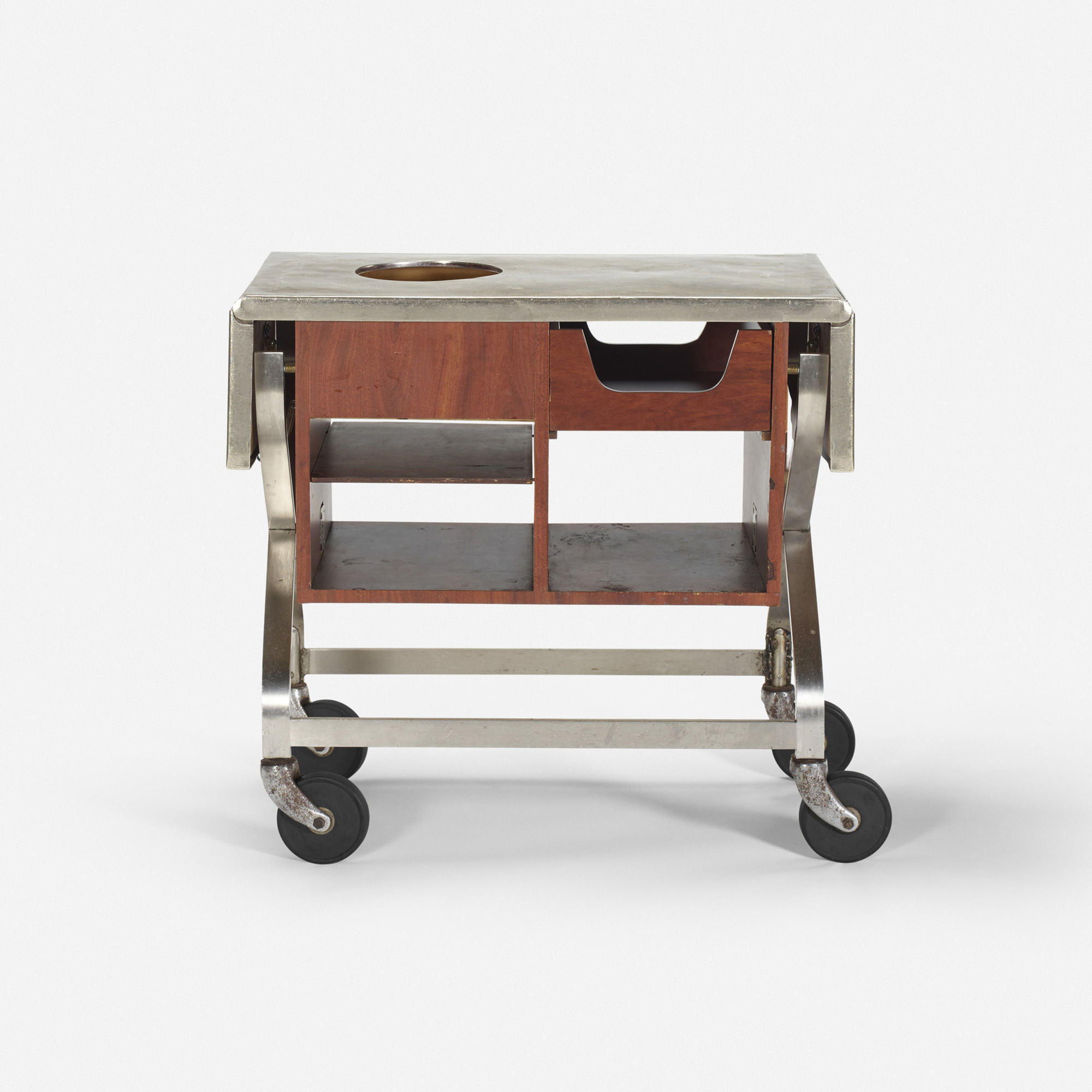 731: Garth and Ada Louise Huxtable / Serving cart from The Four Seasons (1 of 1)