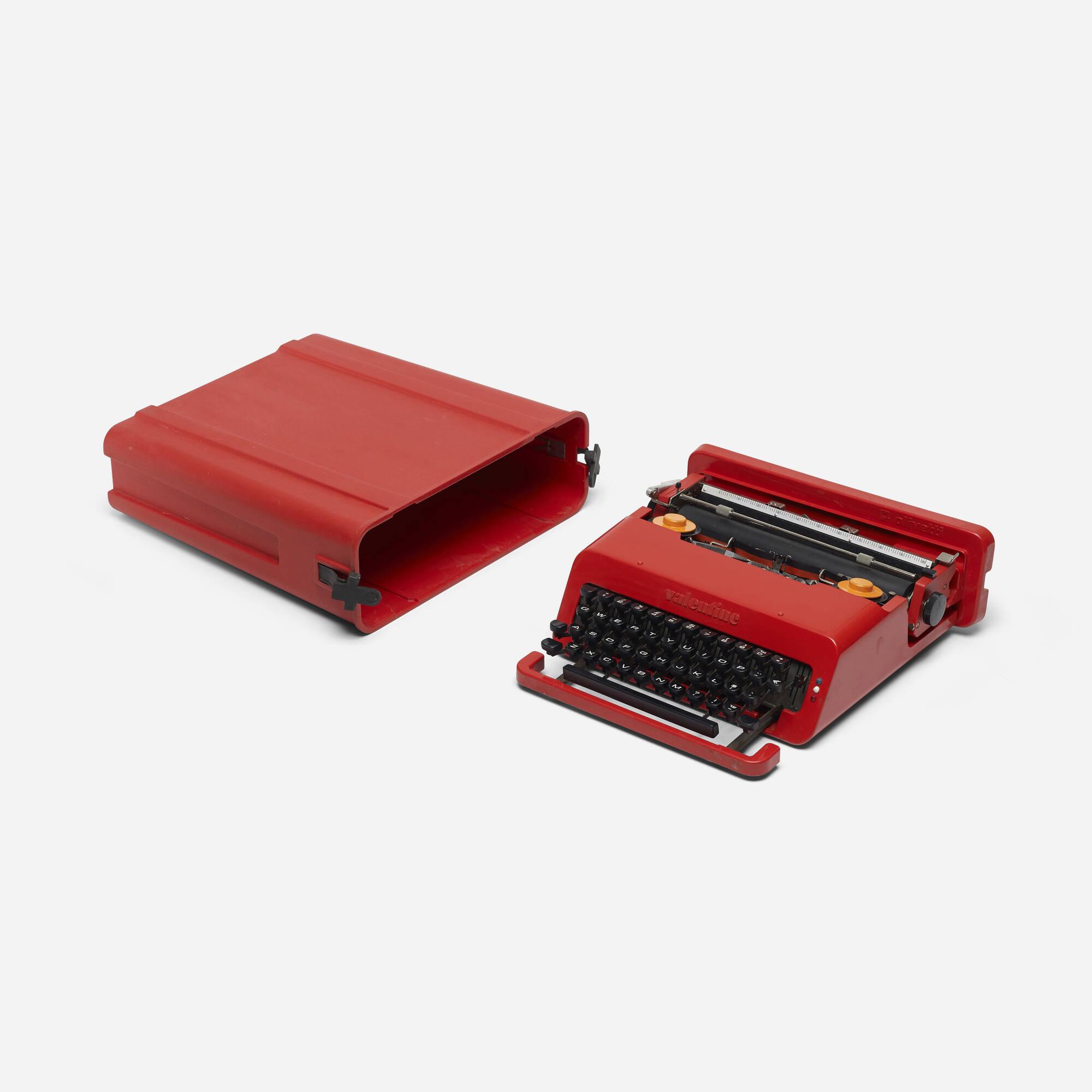737: Ettore Sottsass / Valentine typewriter (1 of 2)