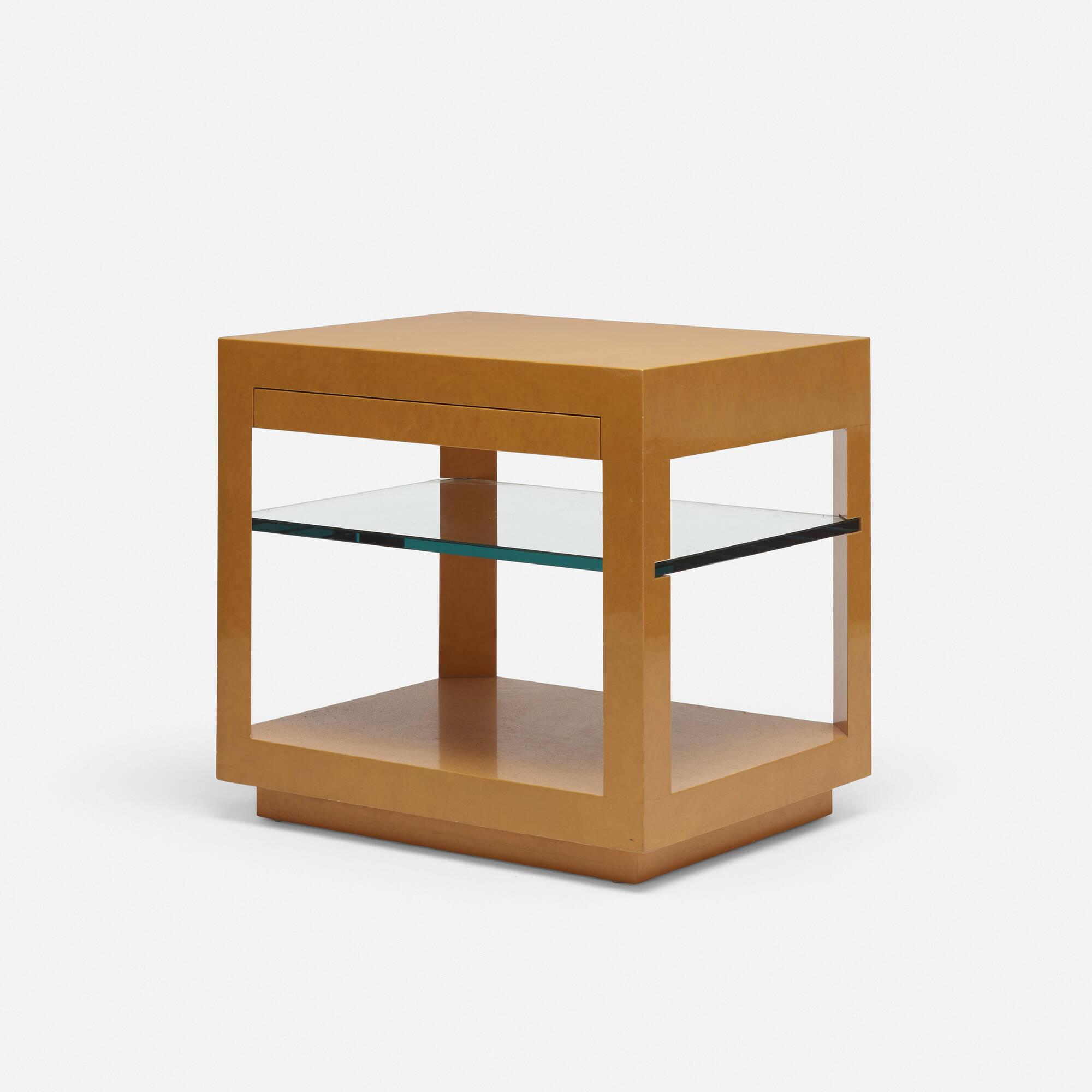 738: Karl Springer / occasional table (1 of 2)