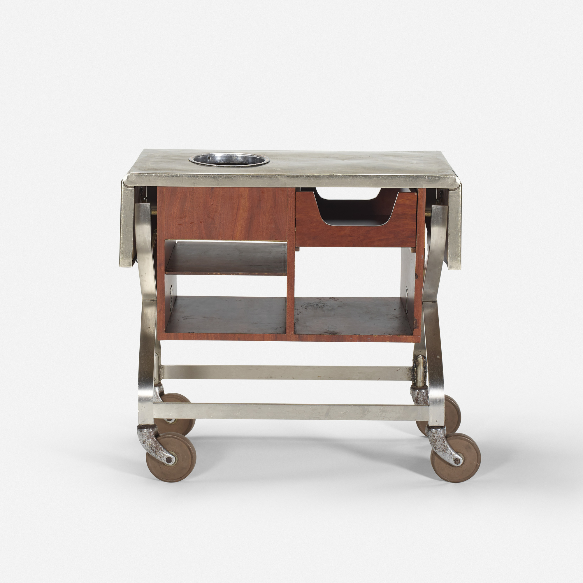 738: Garth and Ada Louise Huxtable / Serving cart from The Four Seasons (1 of 1)