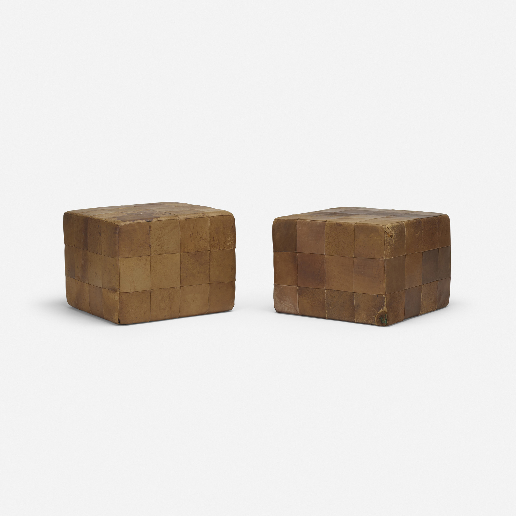 742: Stendig / ottomans, pair (1 of 3)