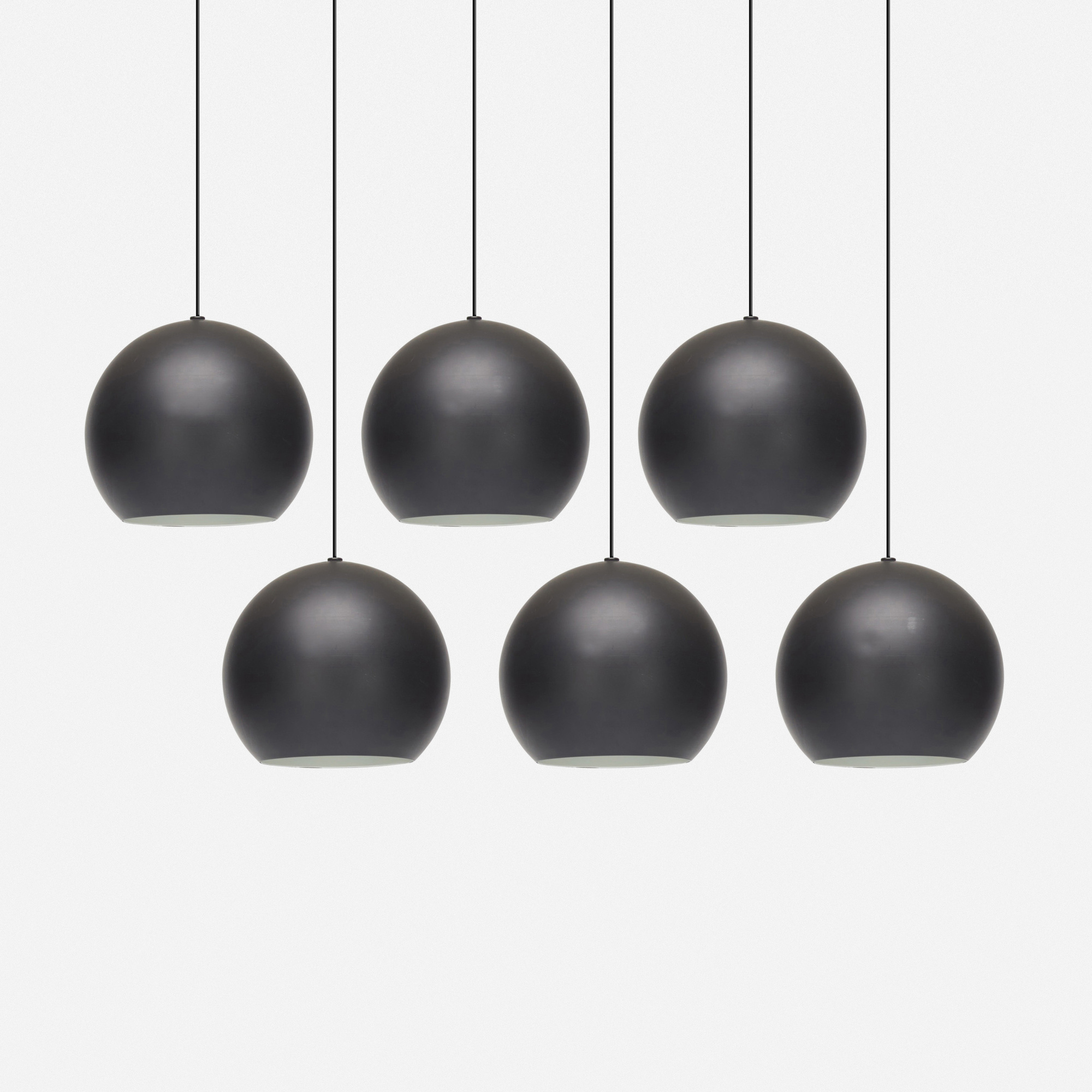 743: Stilnovo / pendant lamps, set of six (1 of 1)