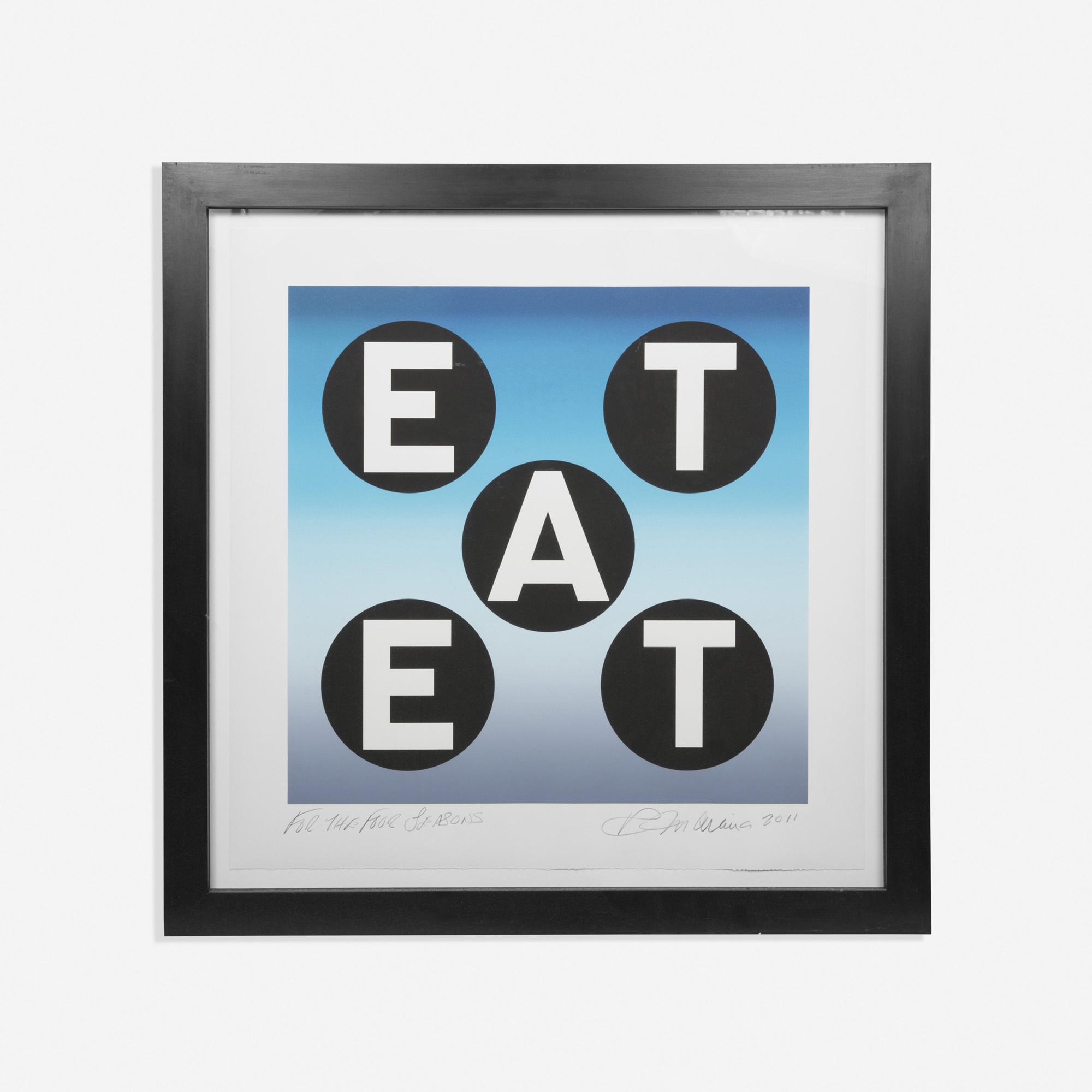 749: Robert Indiana / EAT (1 of 1)
