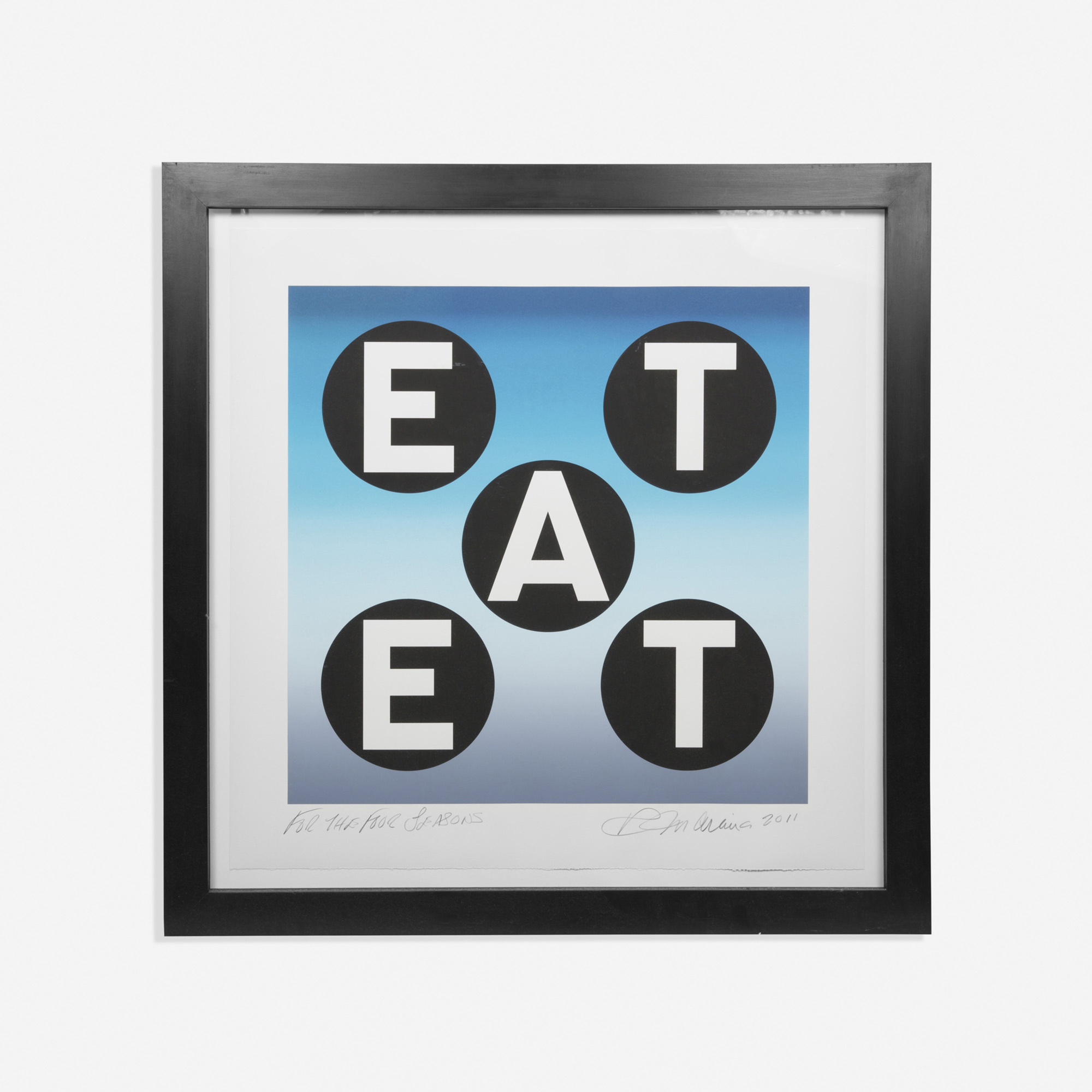 749: Robert Indiana / EAT (1 of 1)