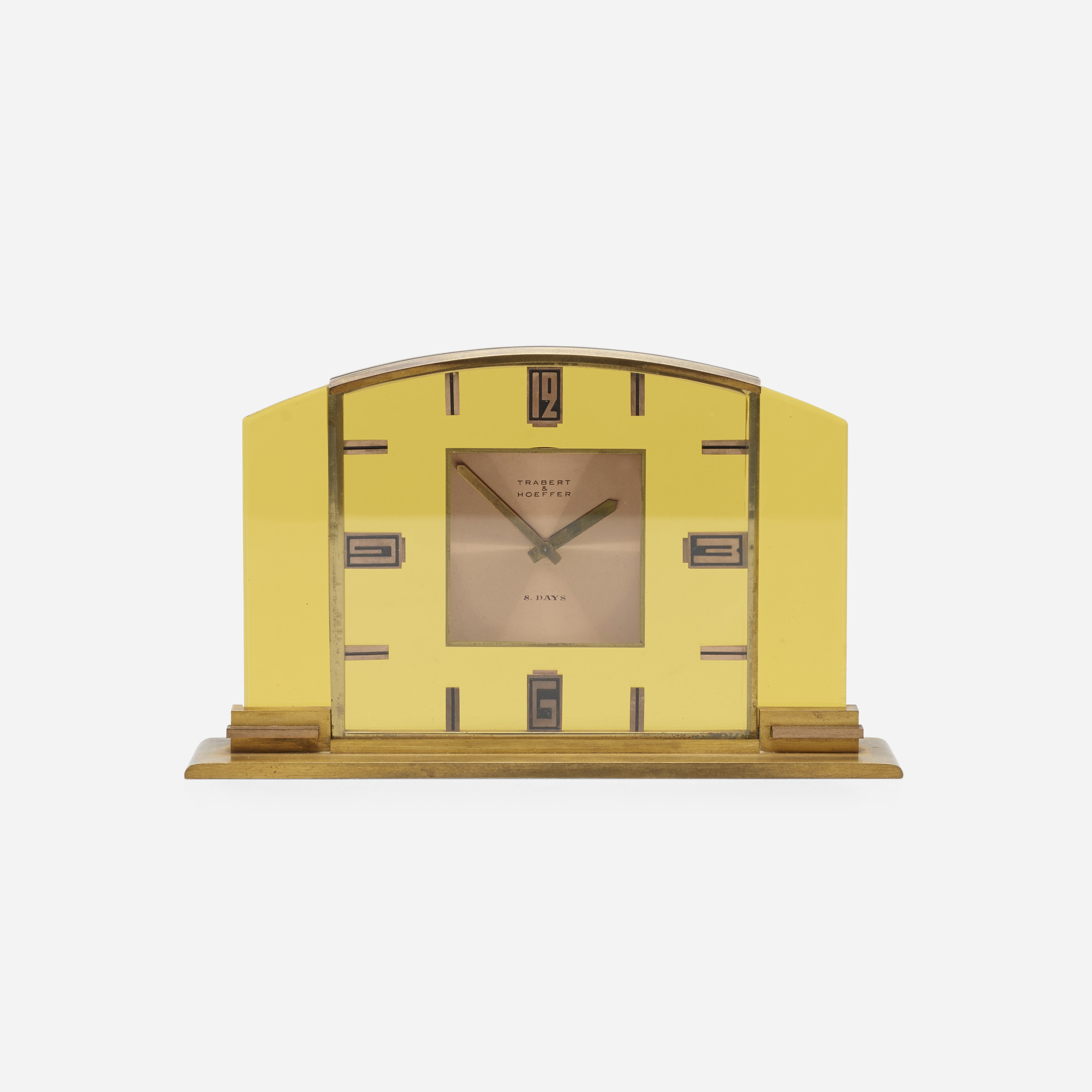 758: Trabert & Hoeffer / desk clock (1 of 1)