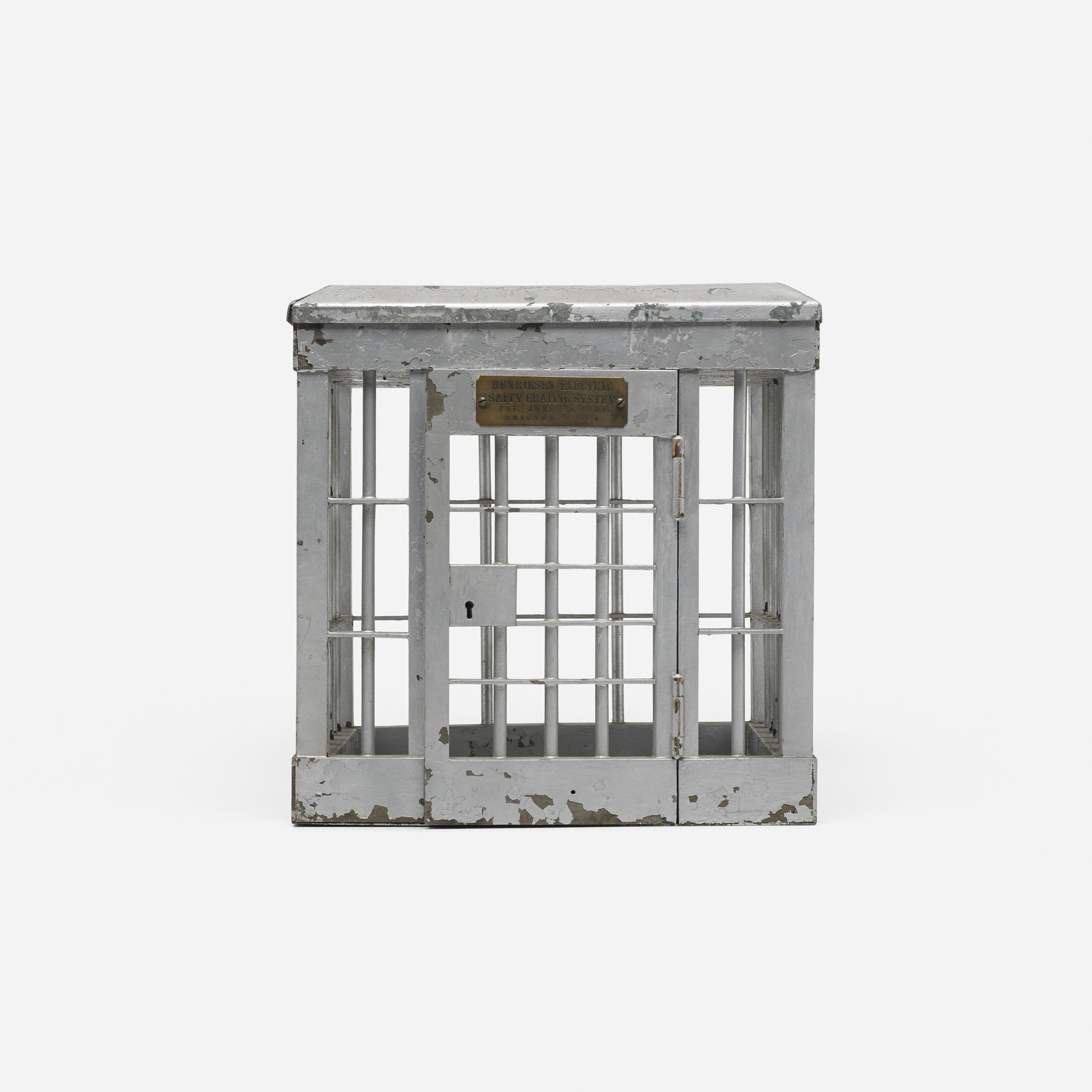 761: Turn of the Century / jail cell patent model (1 of 1)