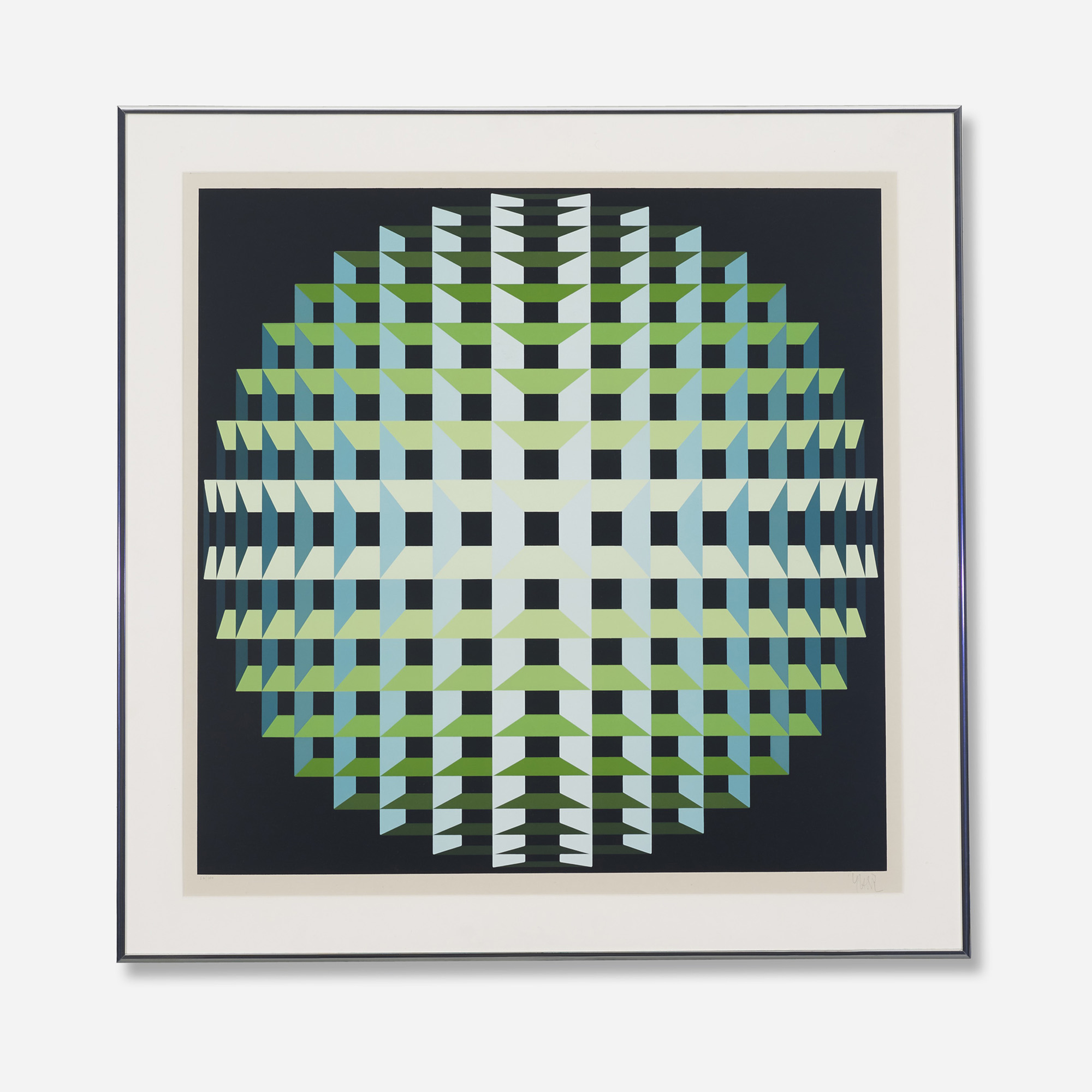 771: Yvaral (Jean-Pierre Vasarely) / Inner Depth (1 of 2)