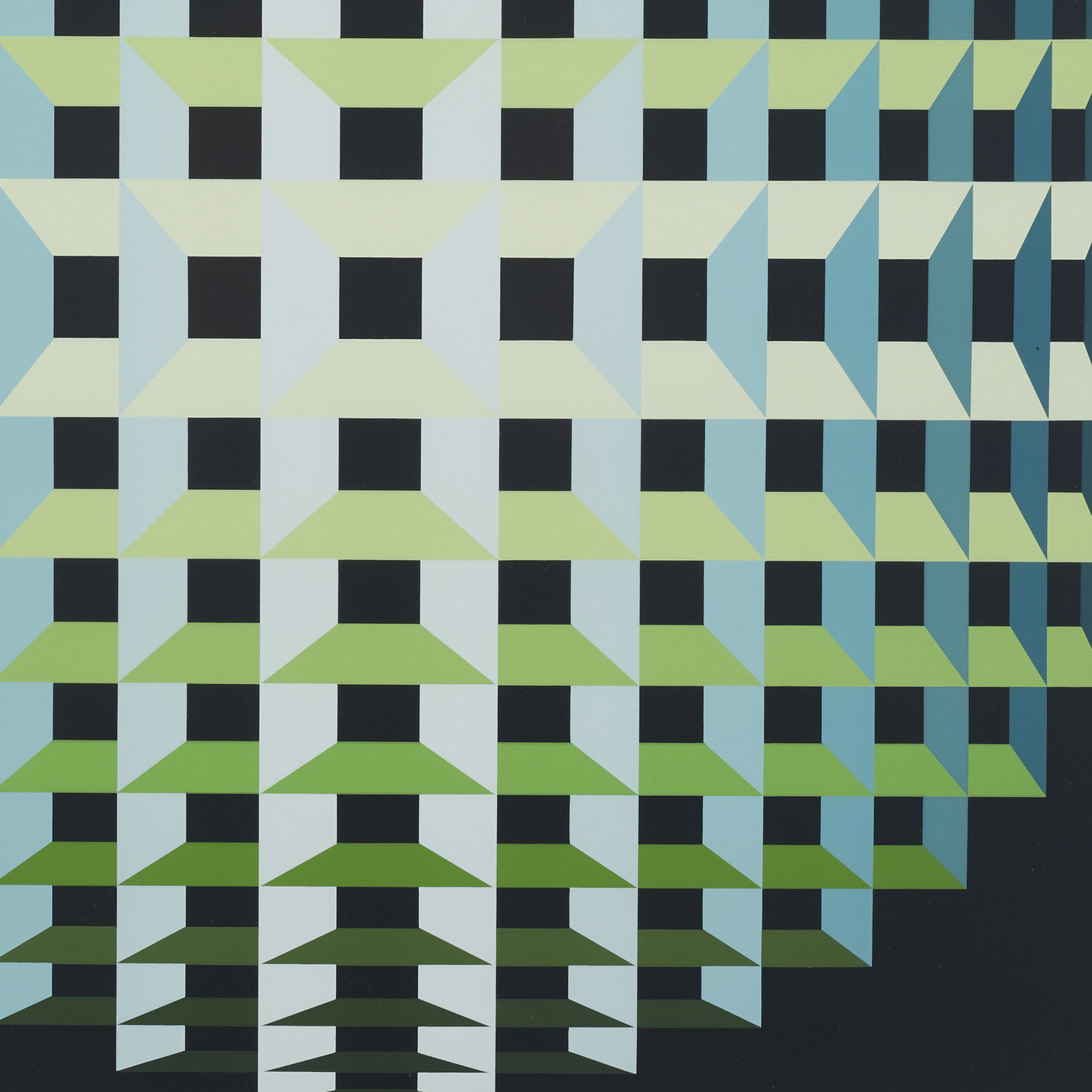 771: Yvaral (Jean-Pierre Vasarely) / Inner Depth (2 of 2)
