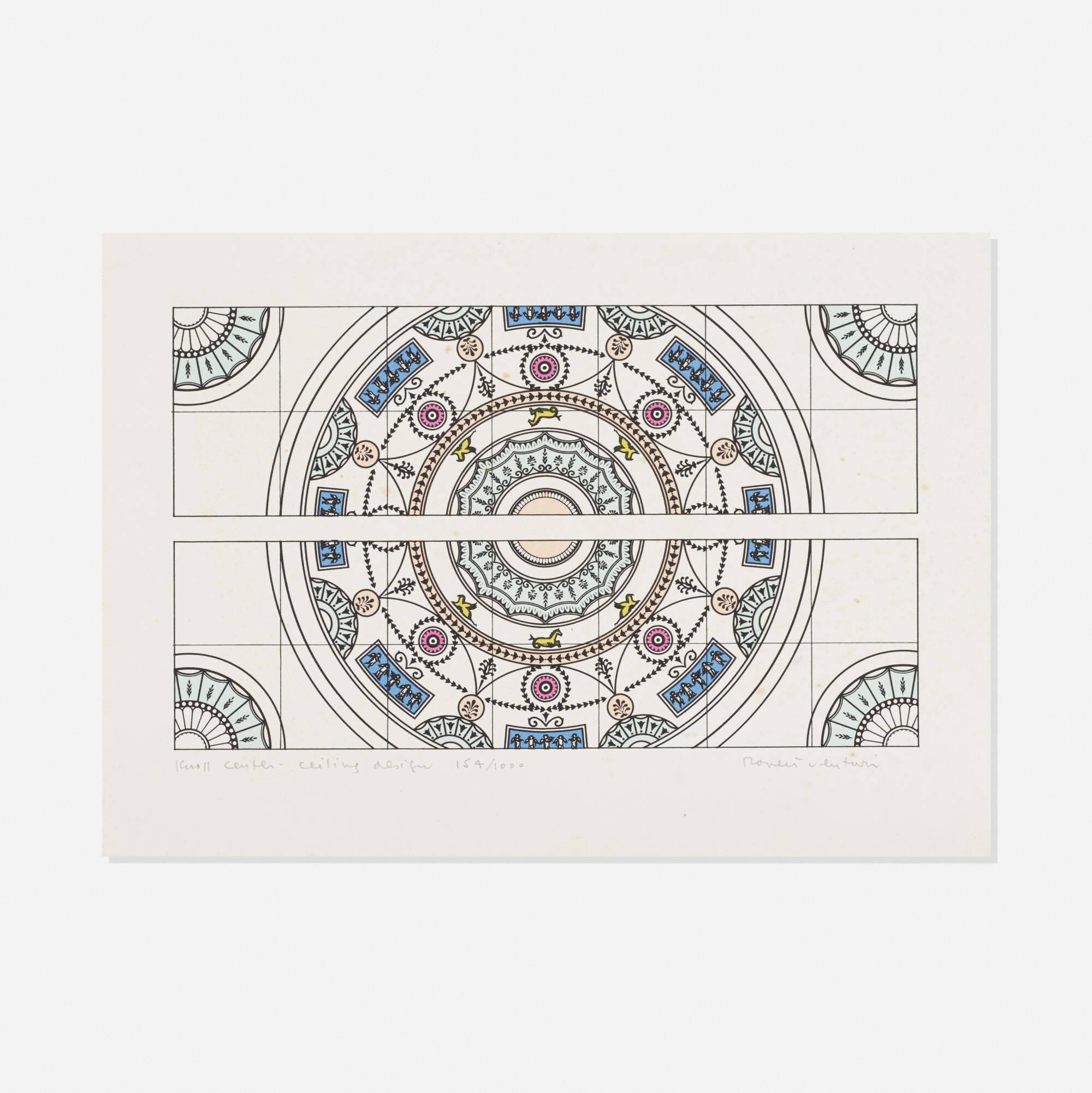 774: Robert Venturi / Knoll Center - Ceiling Design (1 of 1)