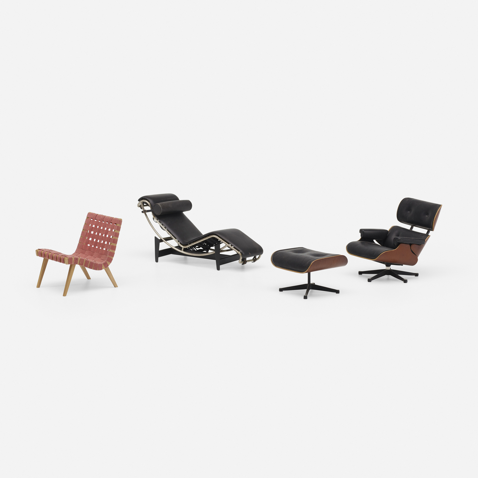 776 vitra collection of three miniature chairs. Black Bedroom Furniture Sets. Home Design Ideas