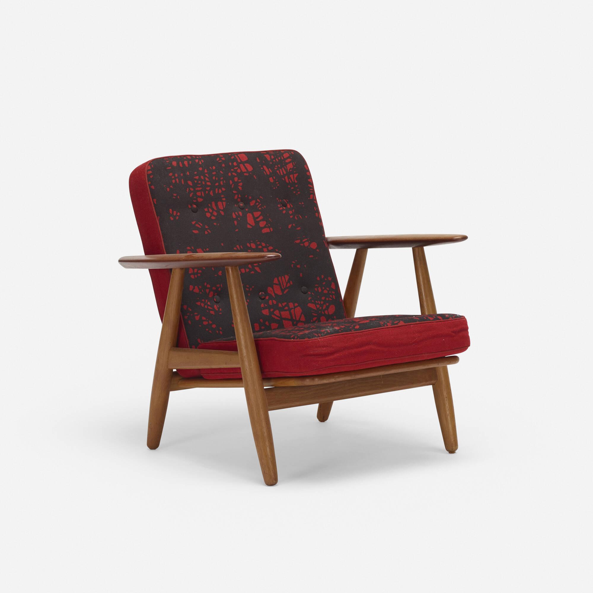 785: Hans J. Wegner / lounge chair, model GE240 (2 of 3)
