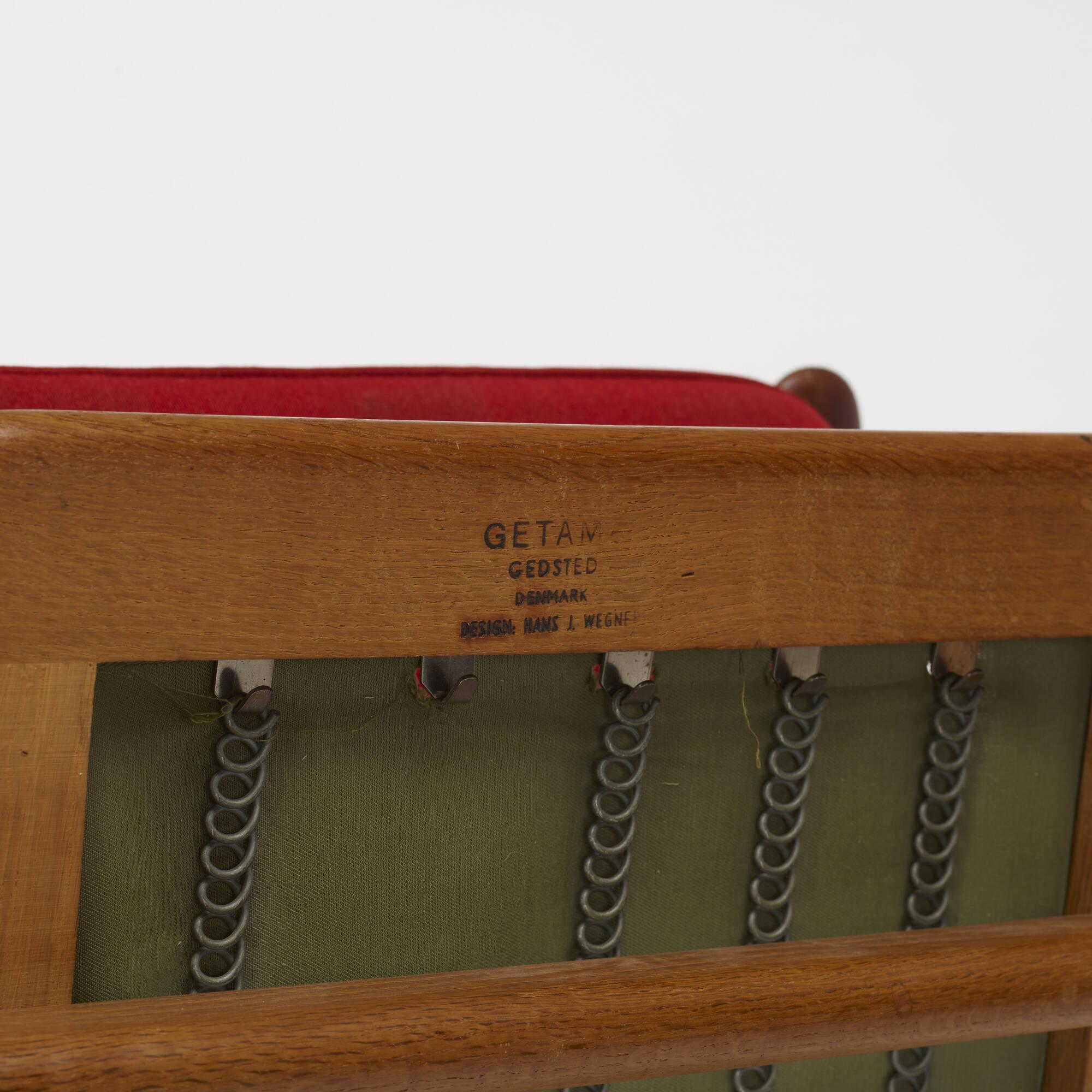 785: Hans J. Wegner / lounge chair, model GE240 (3 of 3)