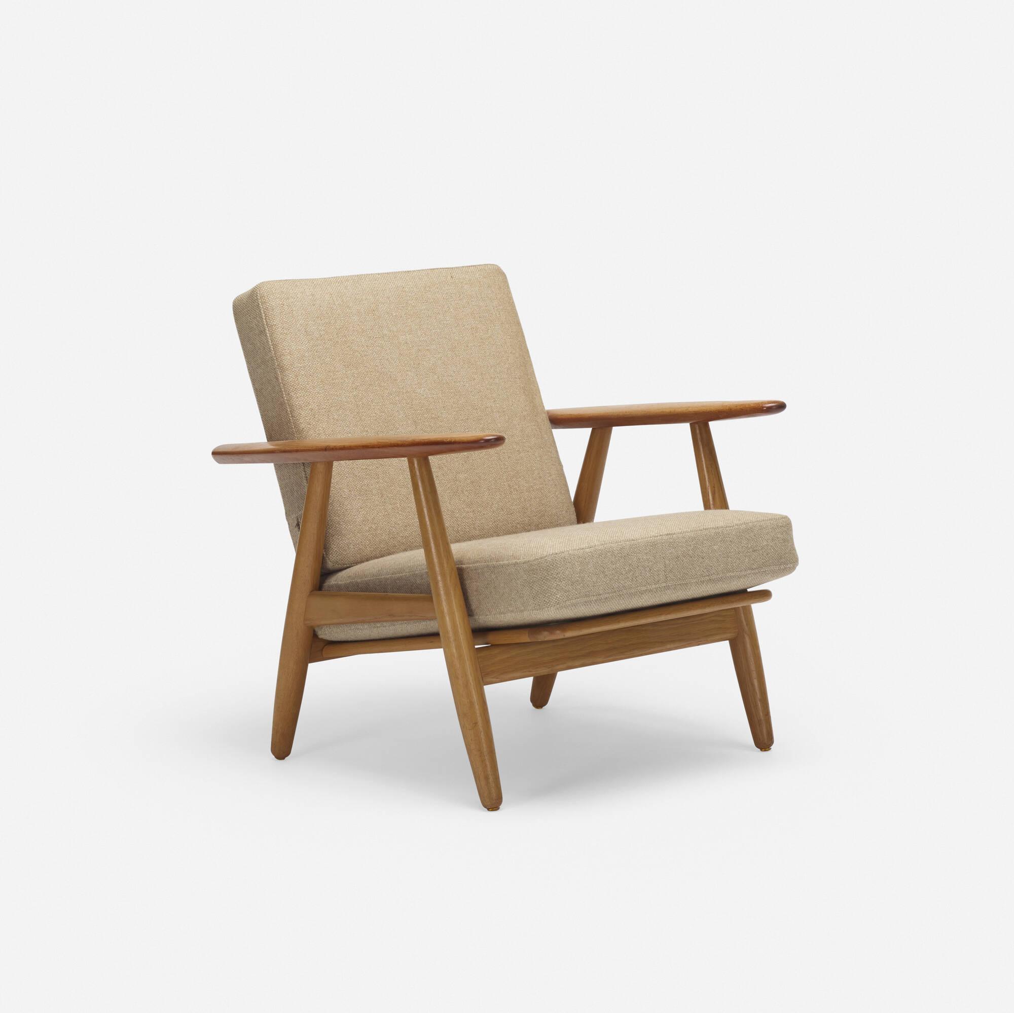 786: Hans J. Wegner / lounge chair, model GE240 (1 of 3)