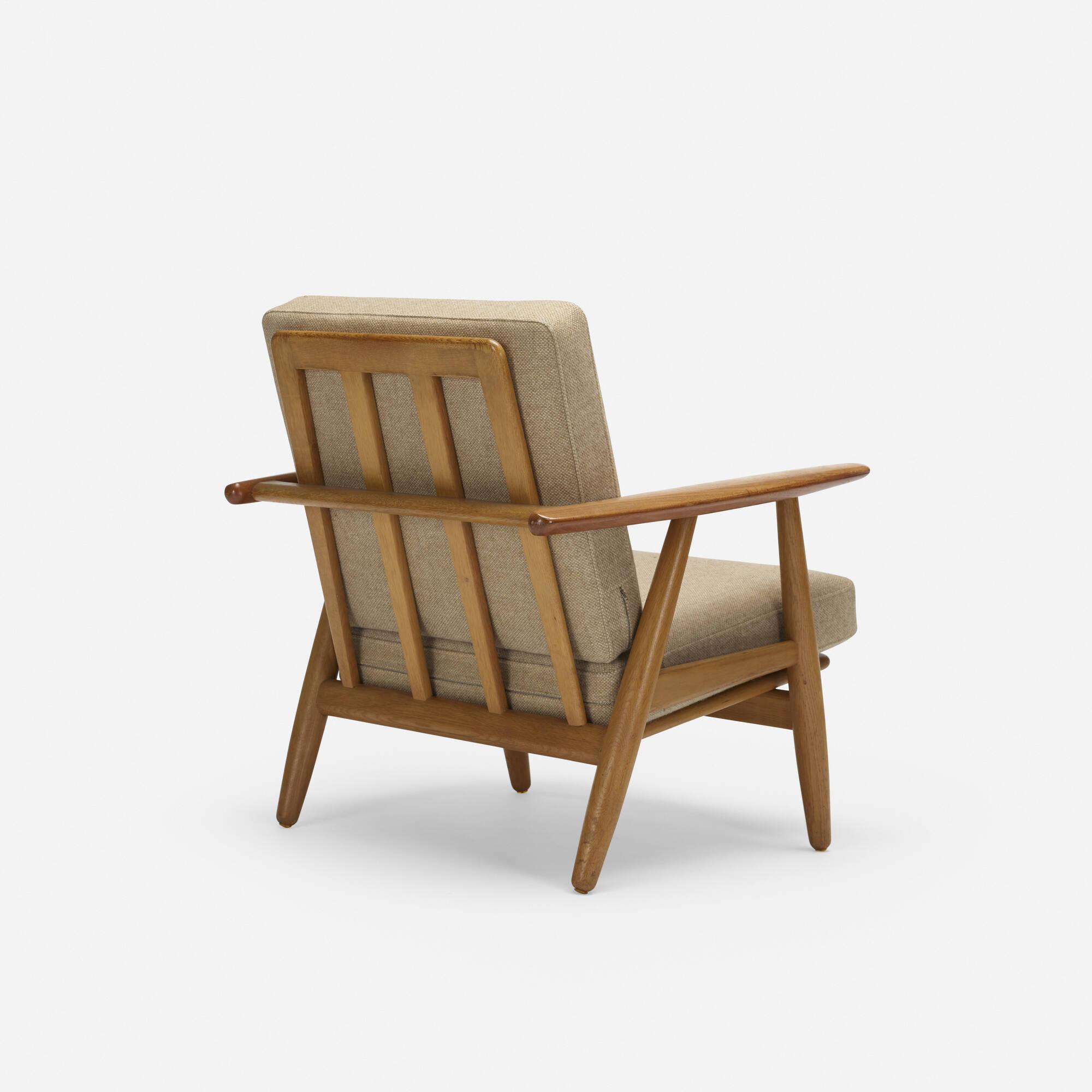 786: Hans J. Wegner / lounge chair, model GE240 (2 of 3)