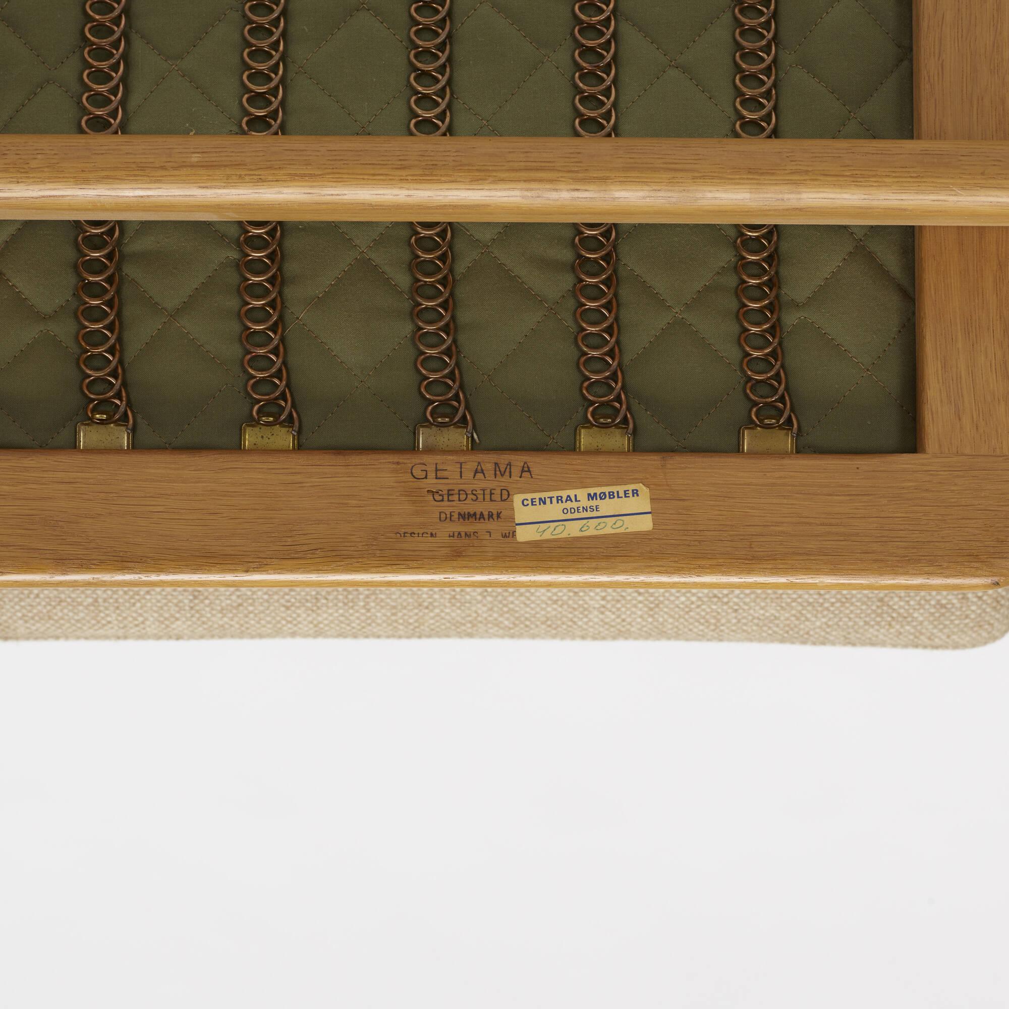 786: Hans J. Wegner / lounge chair, model GE240 (3 of 3)